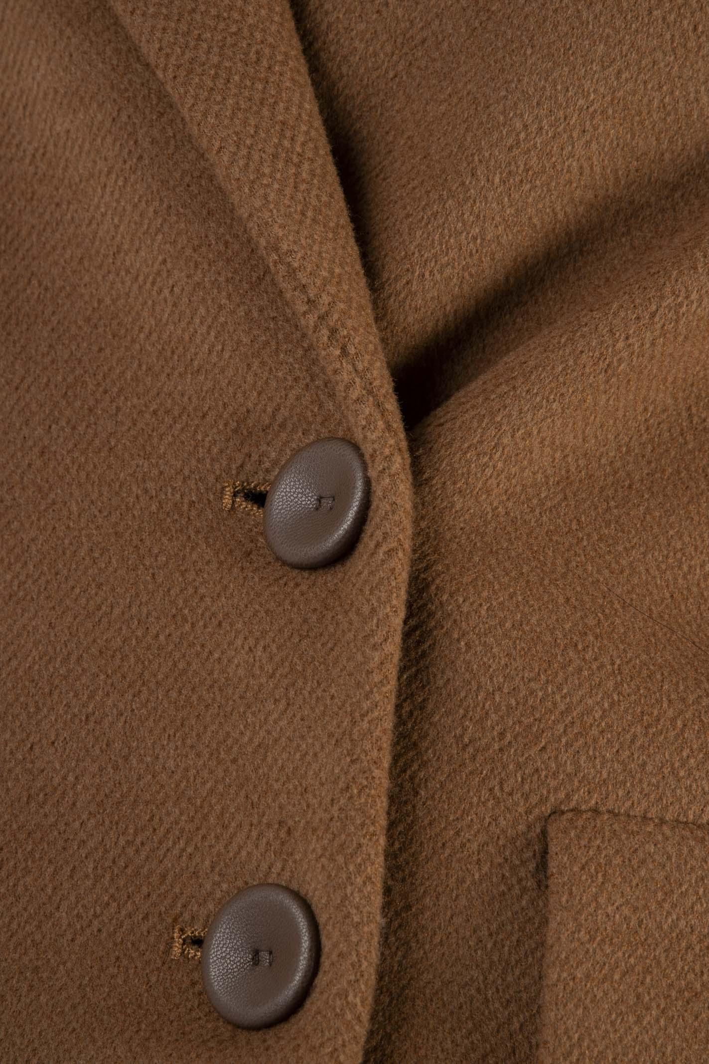 Cappotto a Doppiopetto Bicolor Hanita | Cappotto | H.K796.25352535.CU/MO