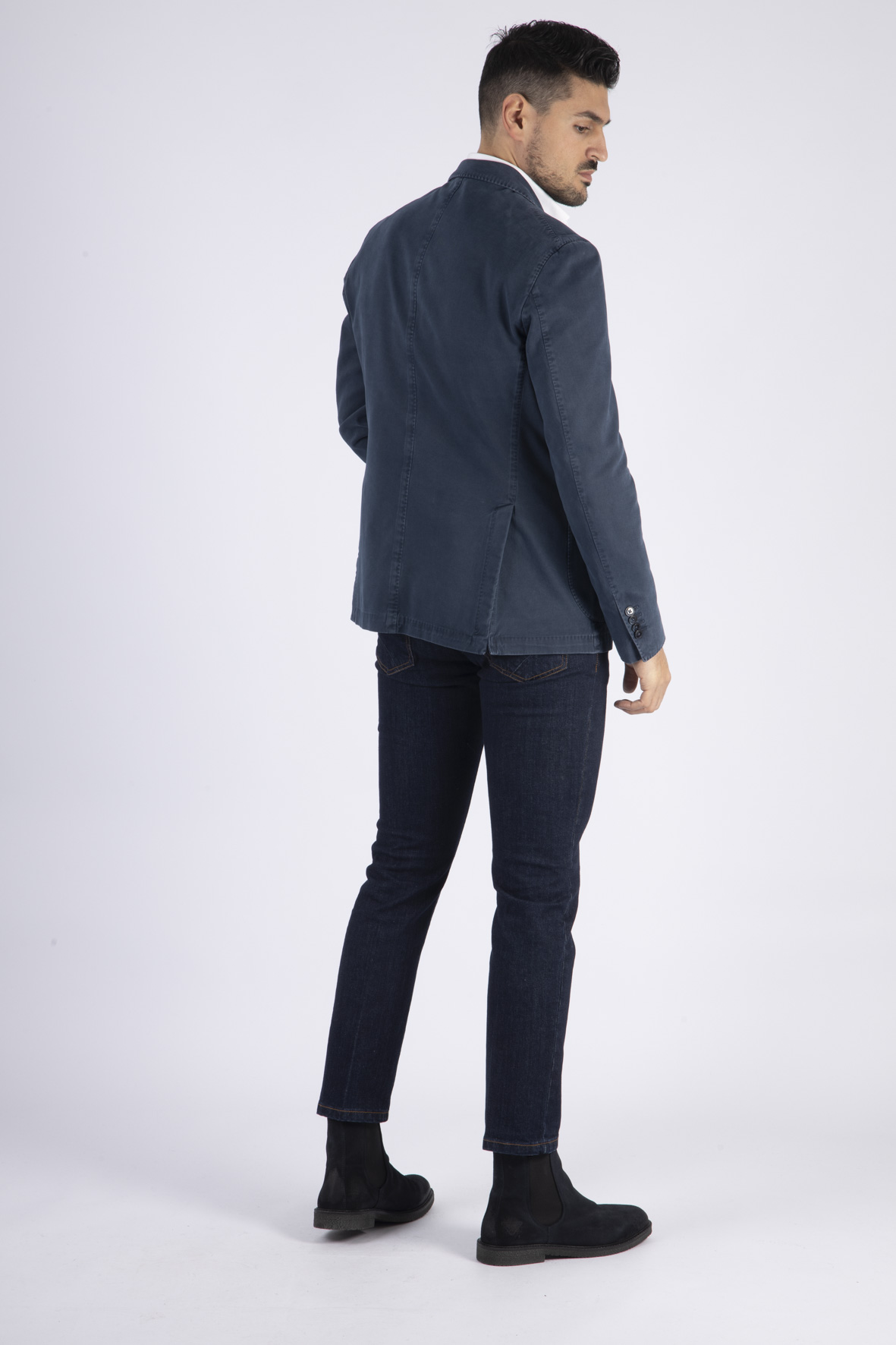 Giacca Denim Monopetto L.B.M. | Giacca | 2857 95137/06