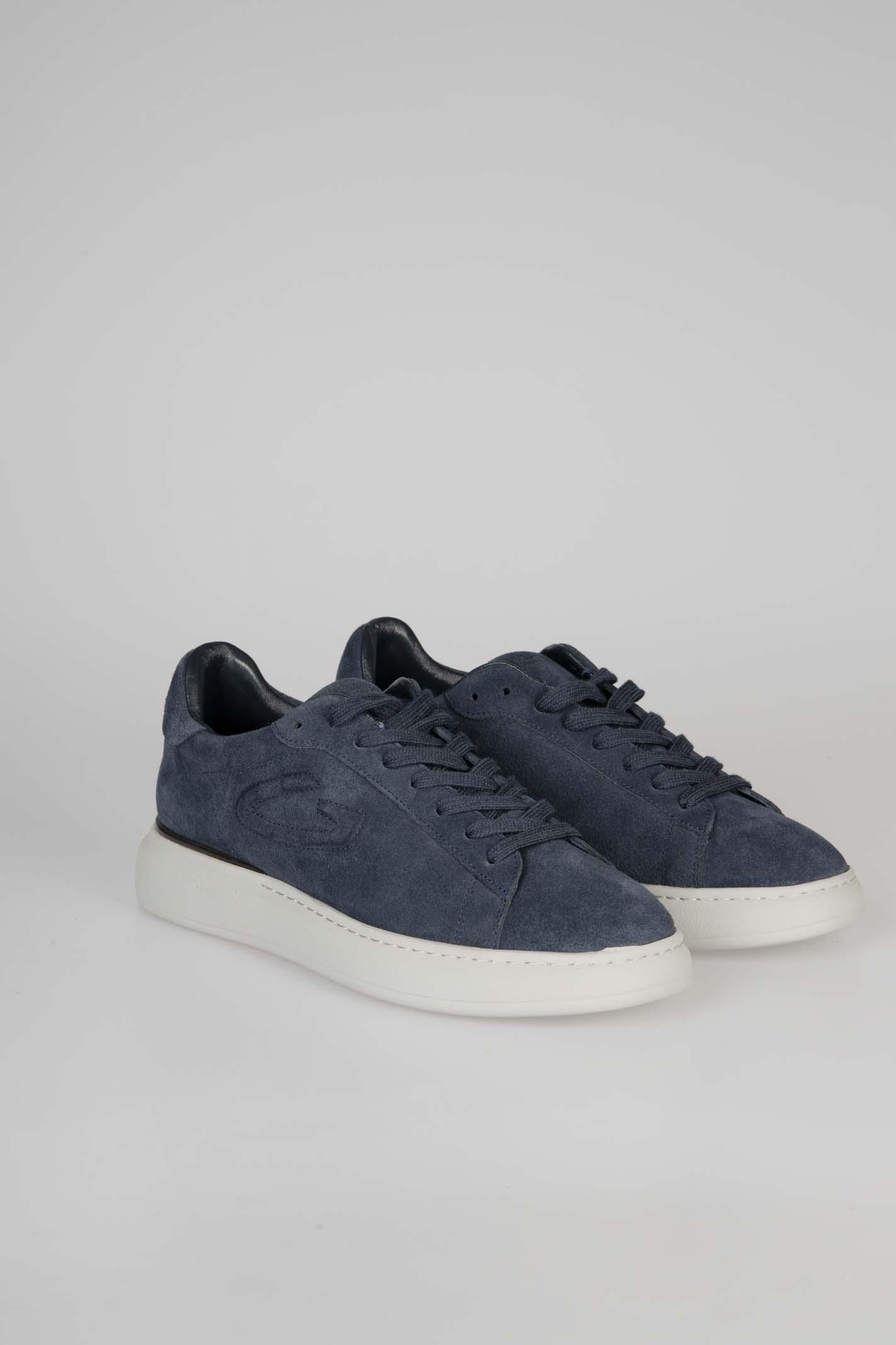 Sneakers King 0037 ALBERTO GUARDIANI | Sneakers | AGM003705Navy