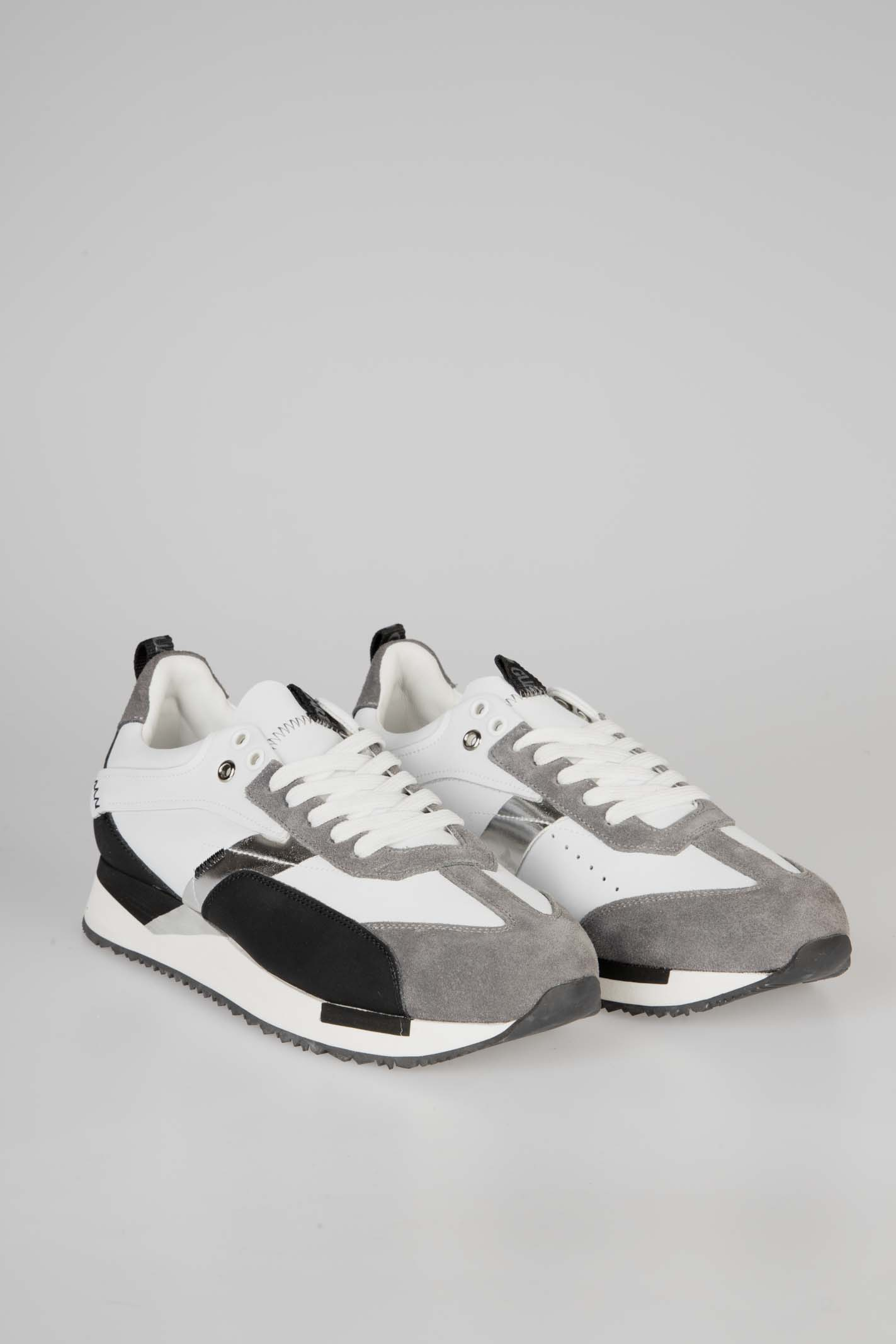 Sneakers Runner 015 ALBERTO GUARDIANI | Sneakers | AGU101056White/Black