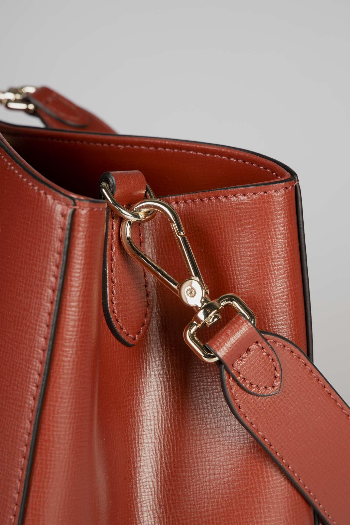 Borsa In Pelle Vitello Rosso Coccinelle | Borsa | E1GN6120101R46