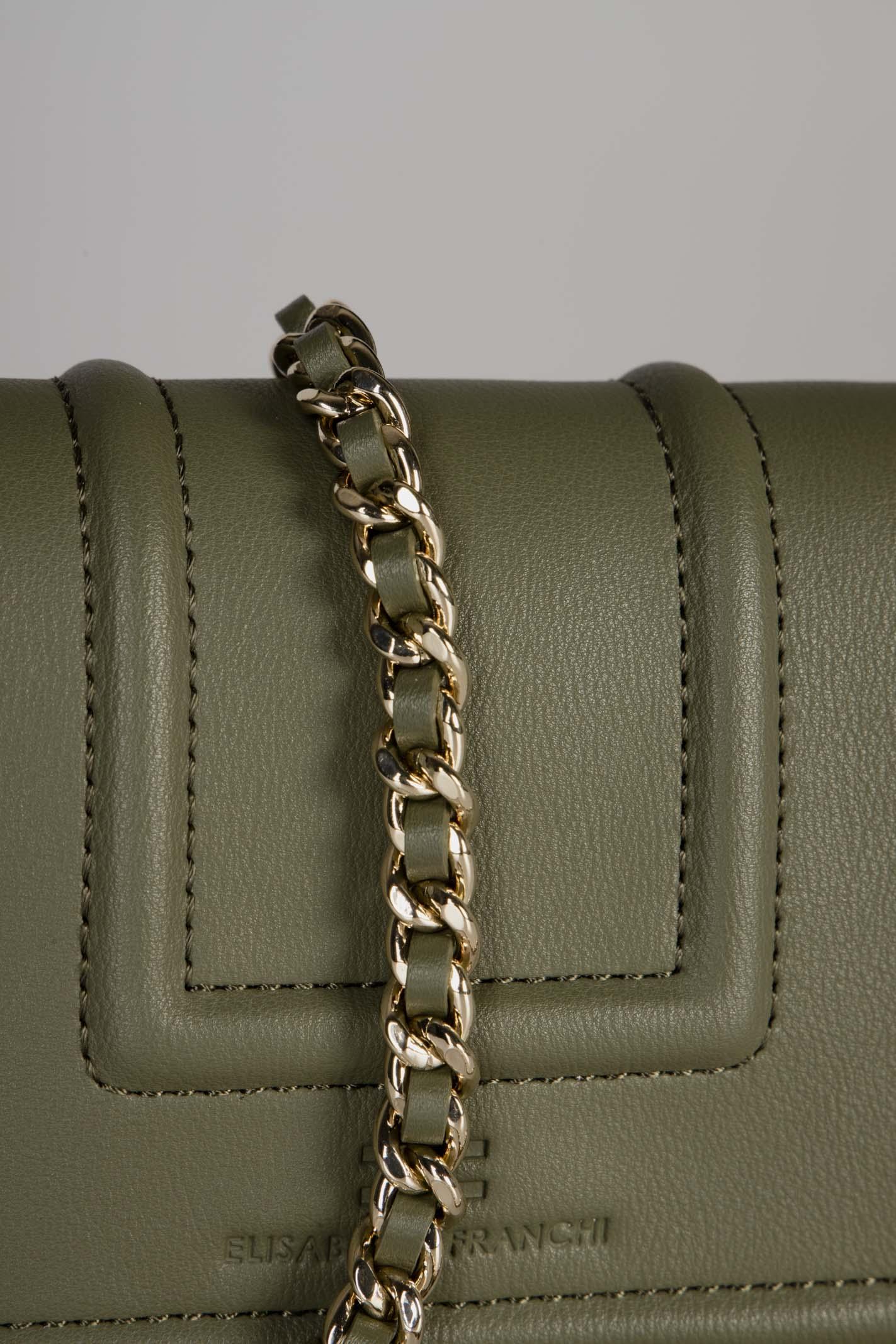 Belt bag con logo dorato EF ELISABETTA FRANCHI | Marsupio | BM10A06E2W73