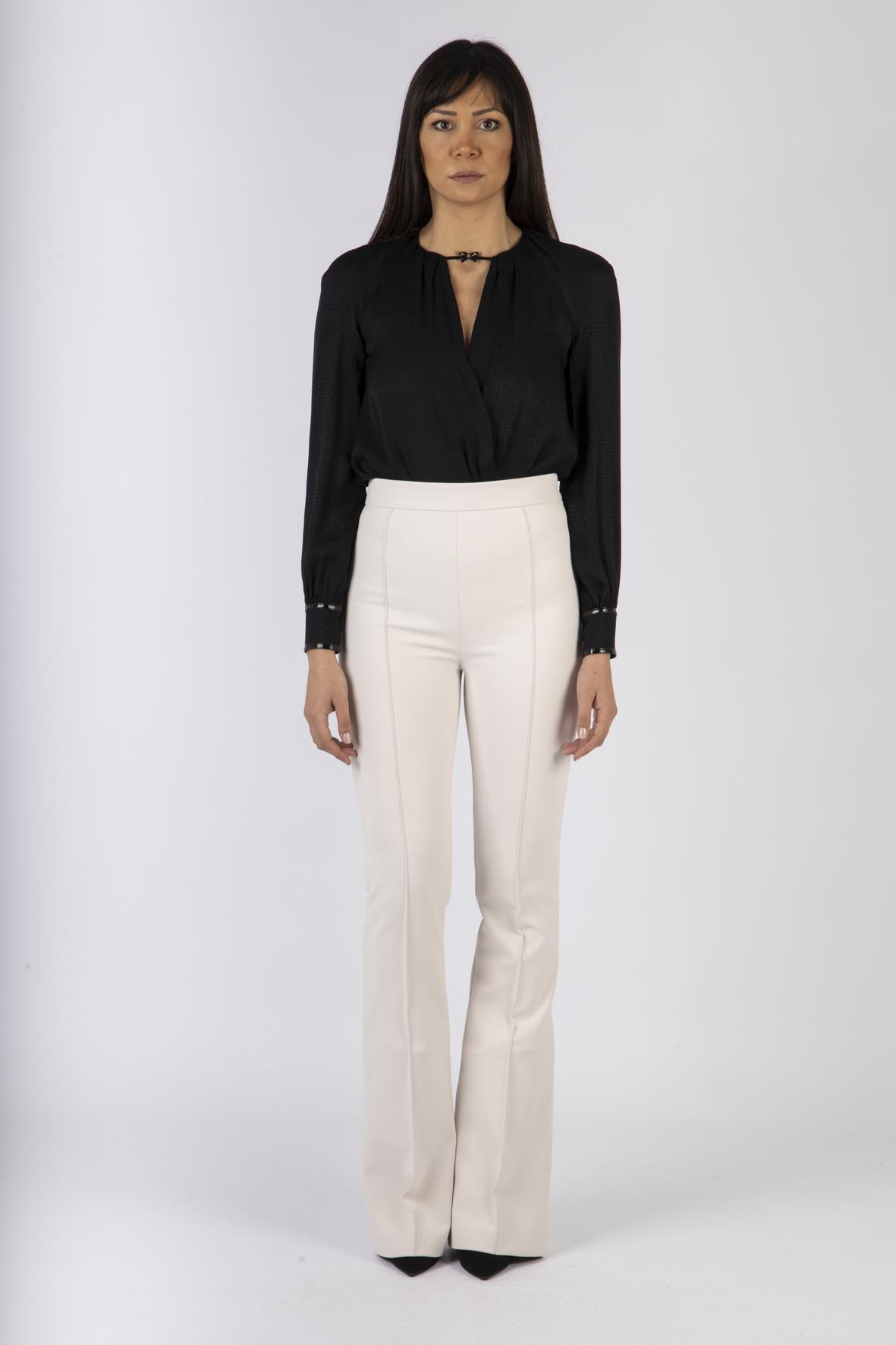 Body camicia con fiocchetto ELISABETTA FRANCHI   Camicia   CB00607E2110