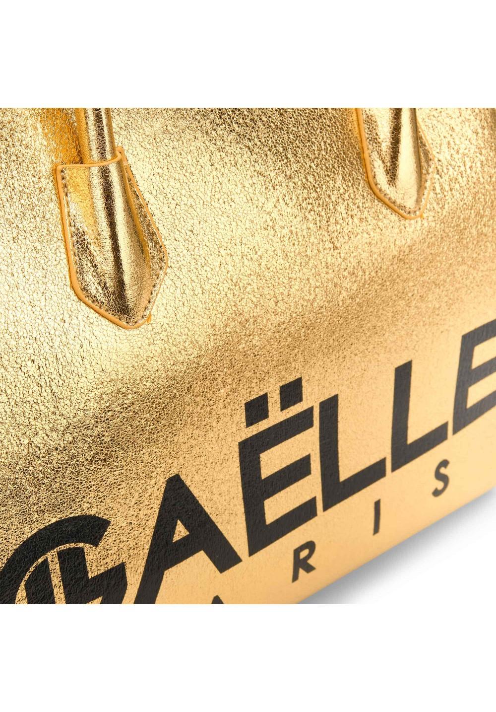 bauletto con logo GAELLE   Borsa   GBDA1865ORO