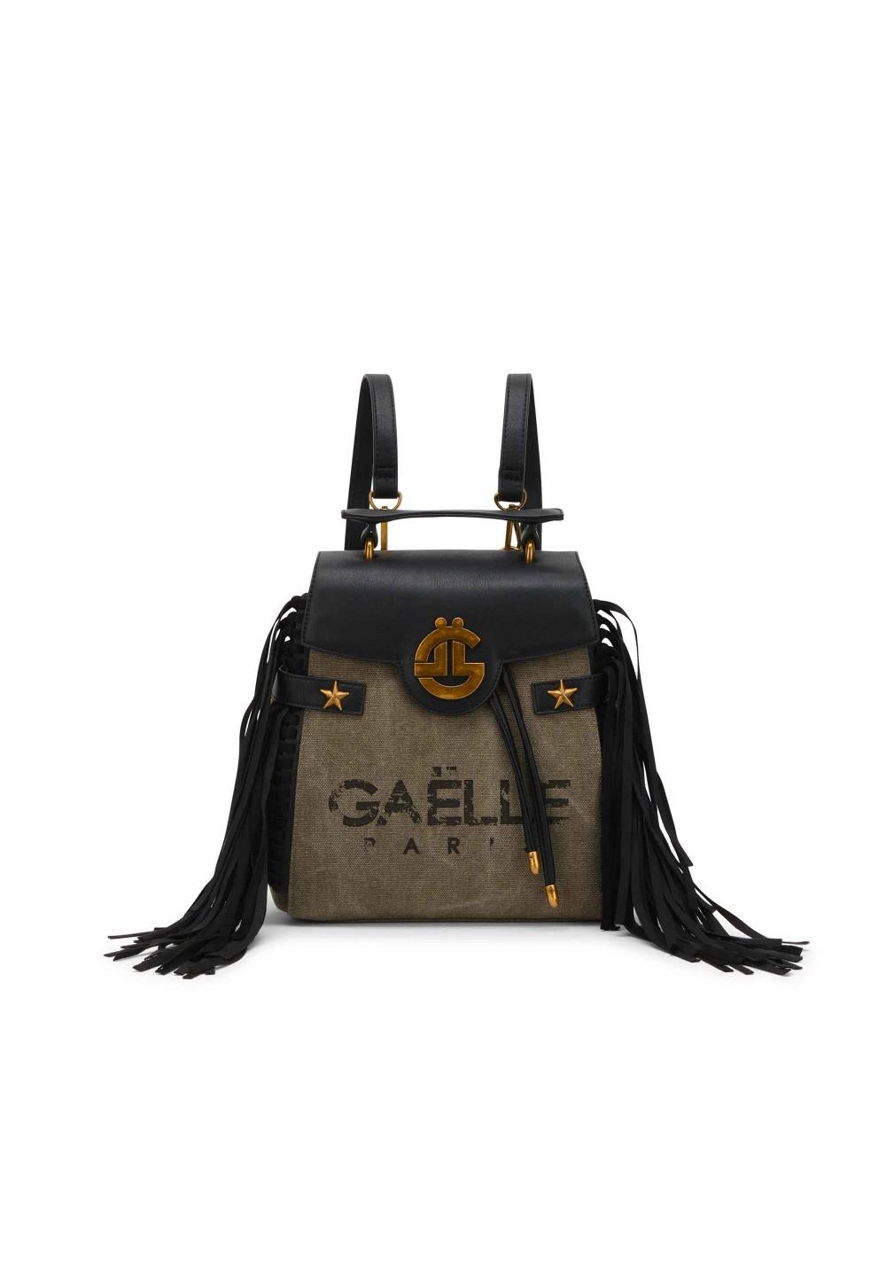 ZAINO GAELLE PARIS GAELLE   Zaino   GBDA1921VERDE OLIVA