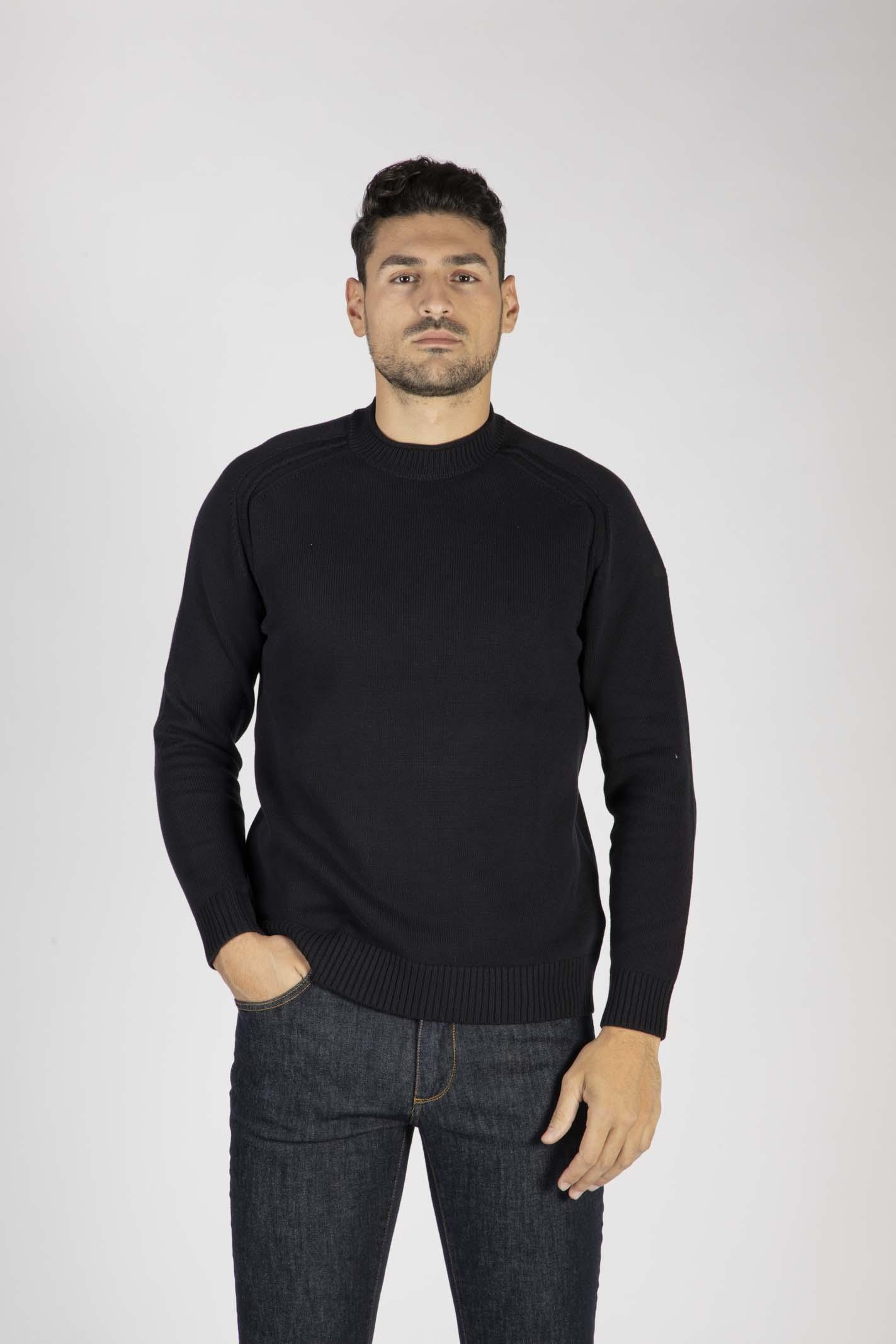Knit Cotton Plain Round RRD | Maglione | W2011860