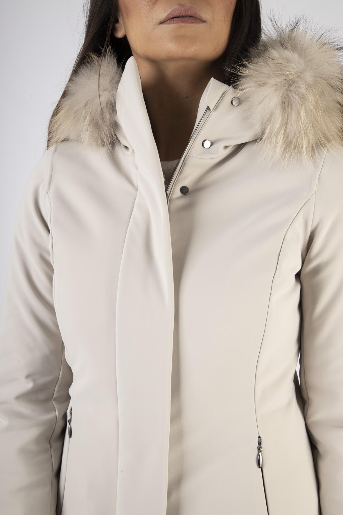 winter long lady fur RRD | Piumino | W20501FT83