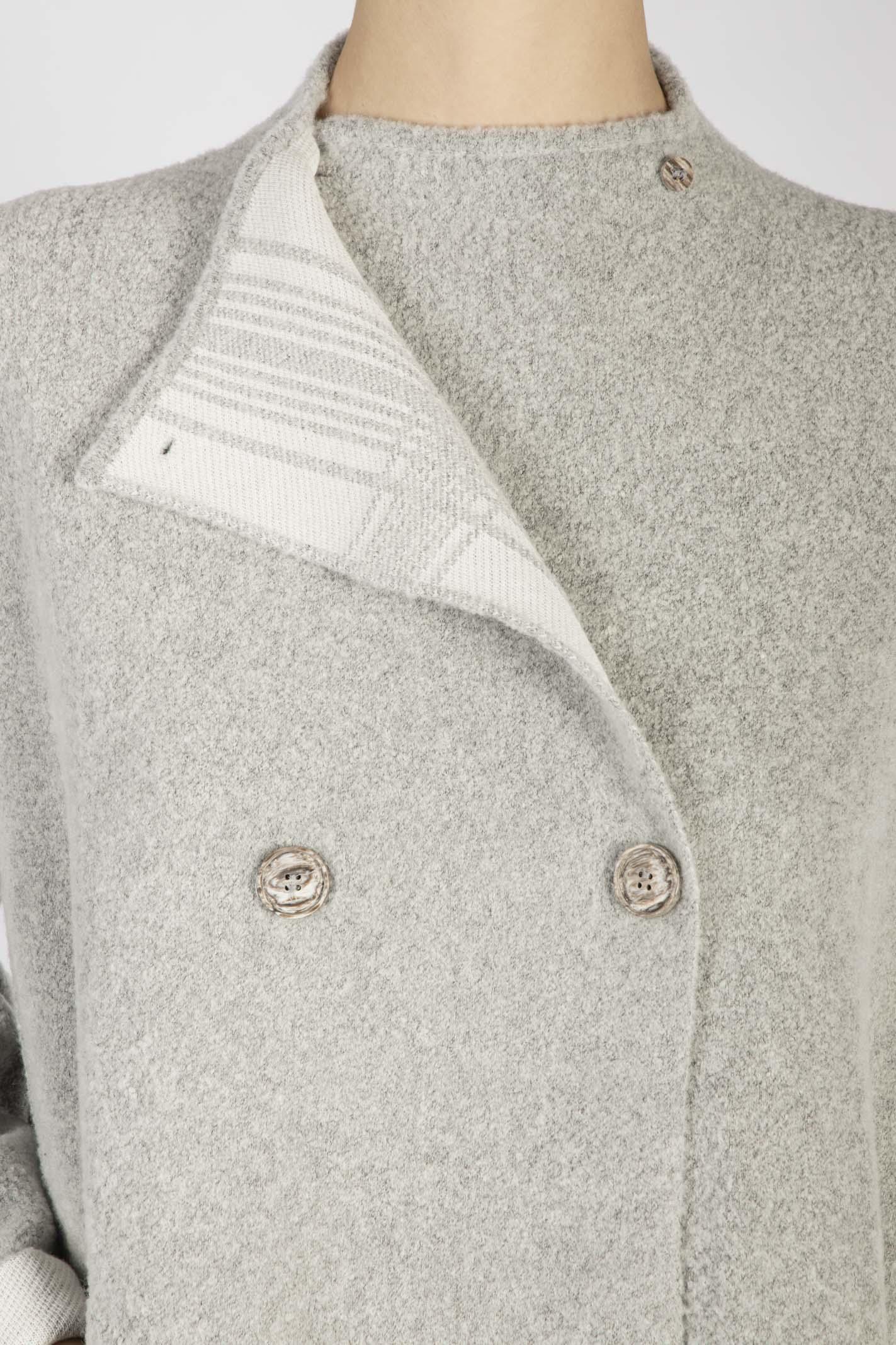 Cappotto maglia reversibile tonet | Giacca maglia | TO05420001