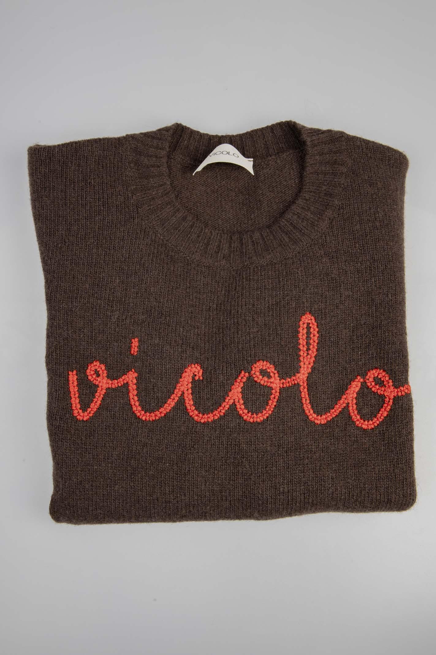 VICOLO | Knit | 7192WMARRONE