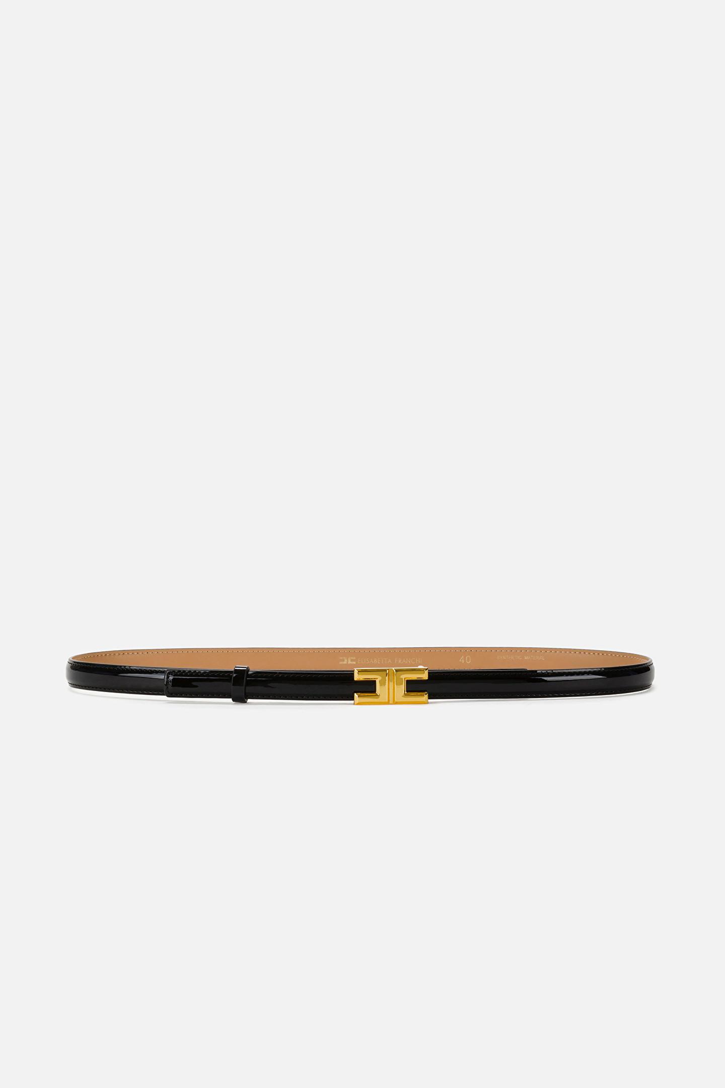 Cintura in vernice Elisabetta Franchi ELISABETTA FRANCHI   Cintura   CT04S16E2110
