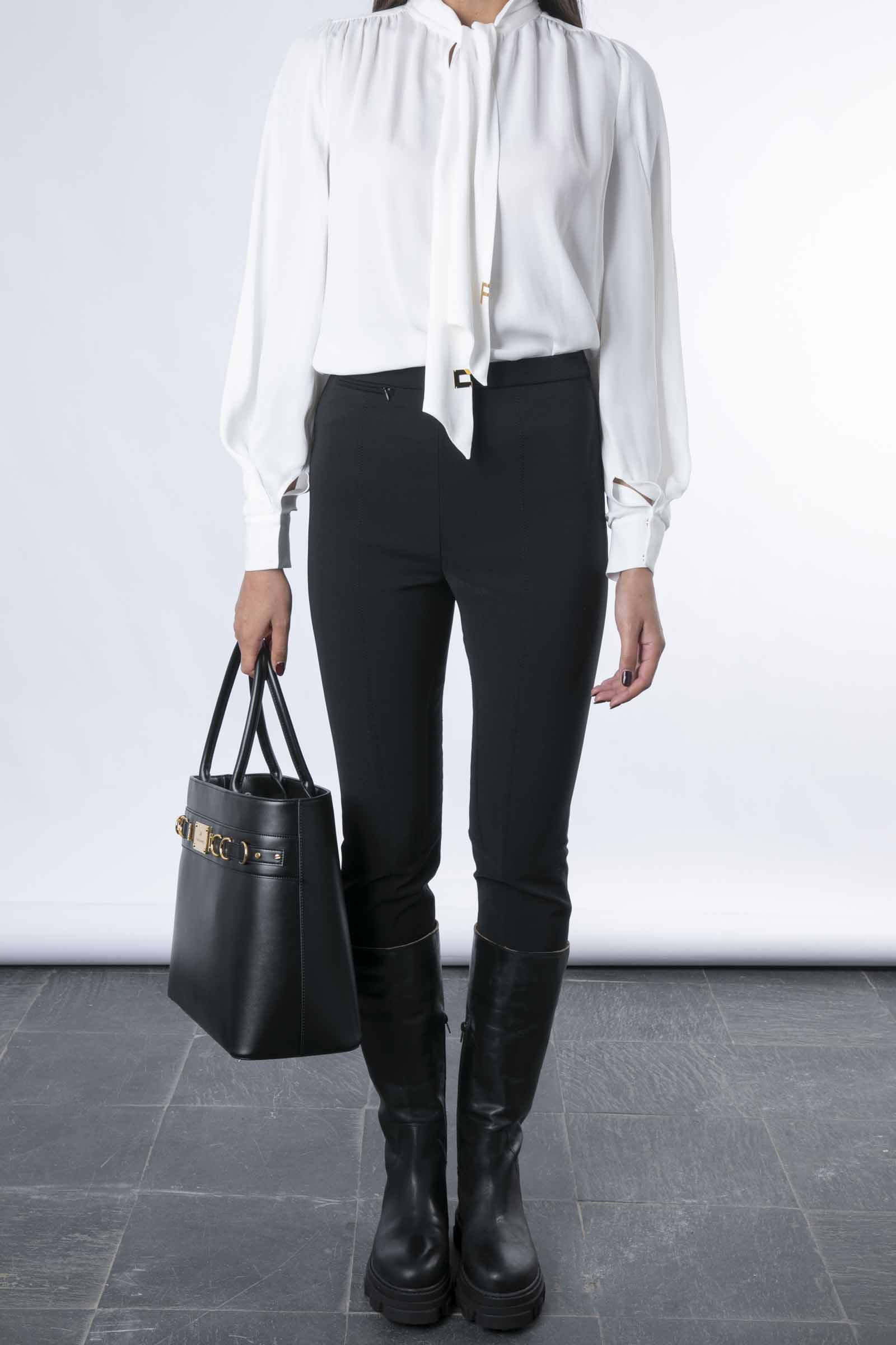 Pantalone cavallerizza stretch ELISABETTA FRANCHI | Pantaloni | PA00616E2110