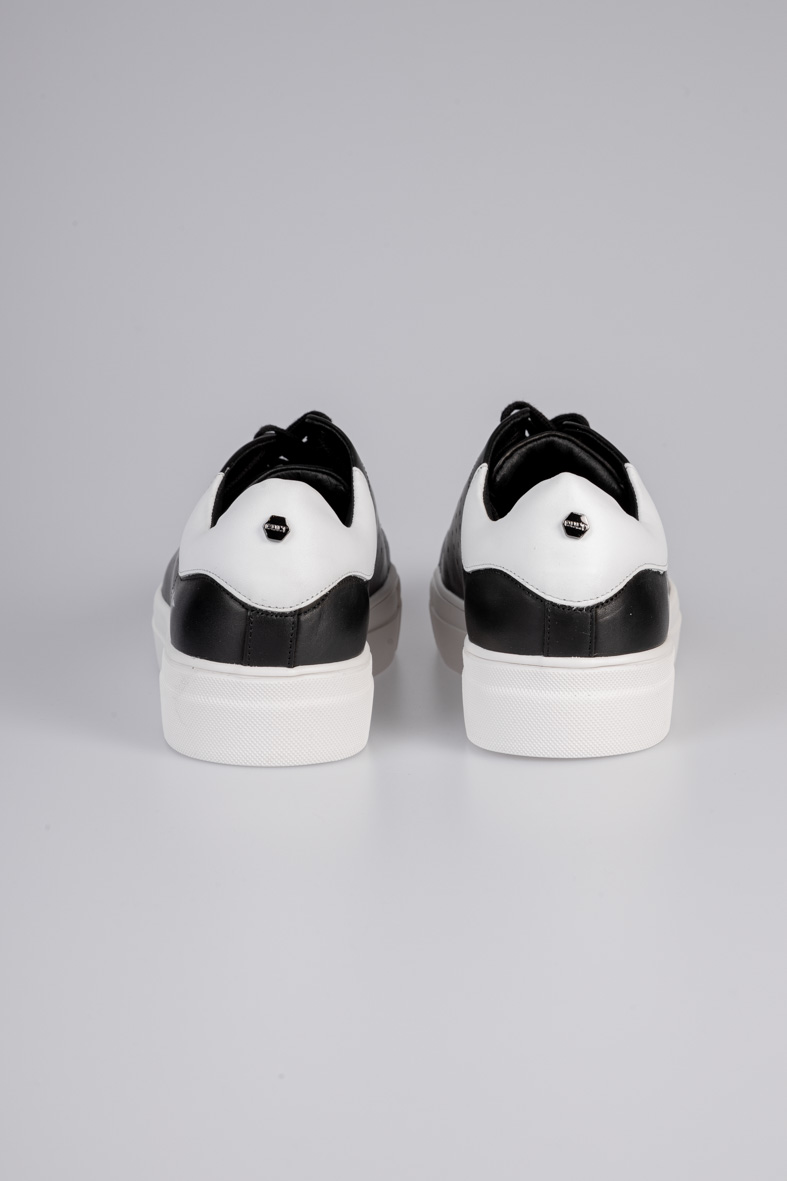 LEMMY 3291 LOW M LEATHER BLACK/WHITE CULT | Sneakers | CLM329101BLACK/WHITE