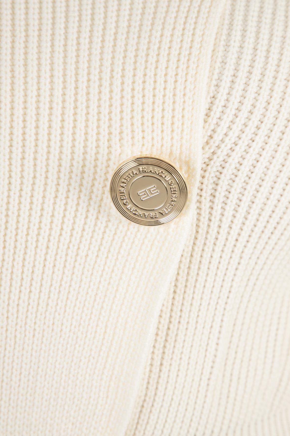 Robe manteau spalle scoperte ELISABETTA FRANCHI | Abito | AM07Q11E2193