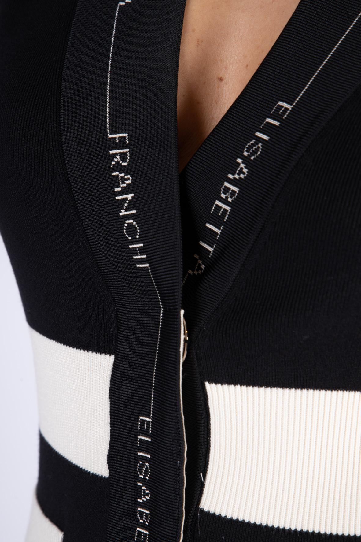 Cardigan Elisabetta Franchi in maglia ELISABETTA FRANCHI | Abito | AM89S11E2685