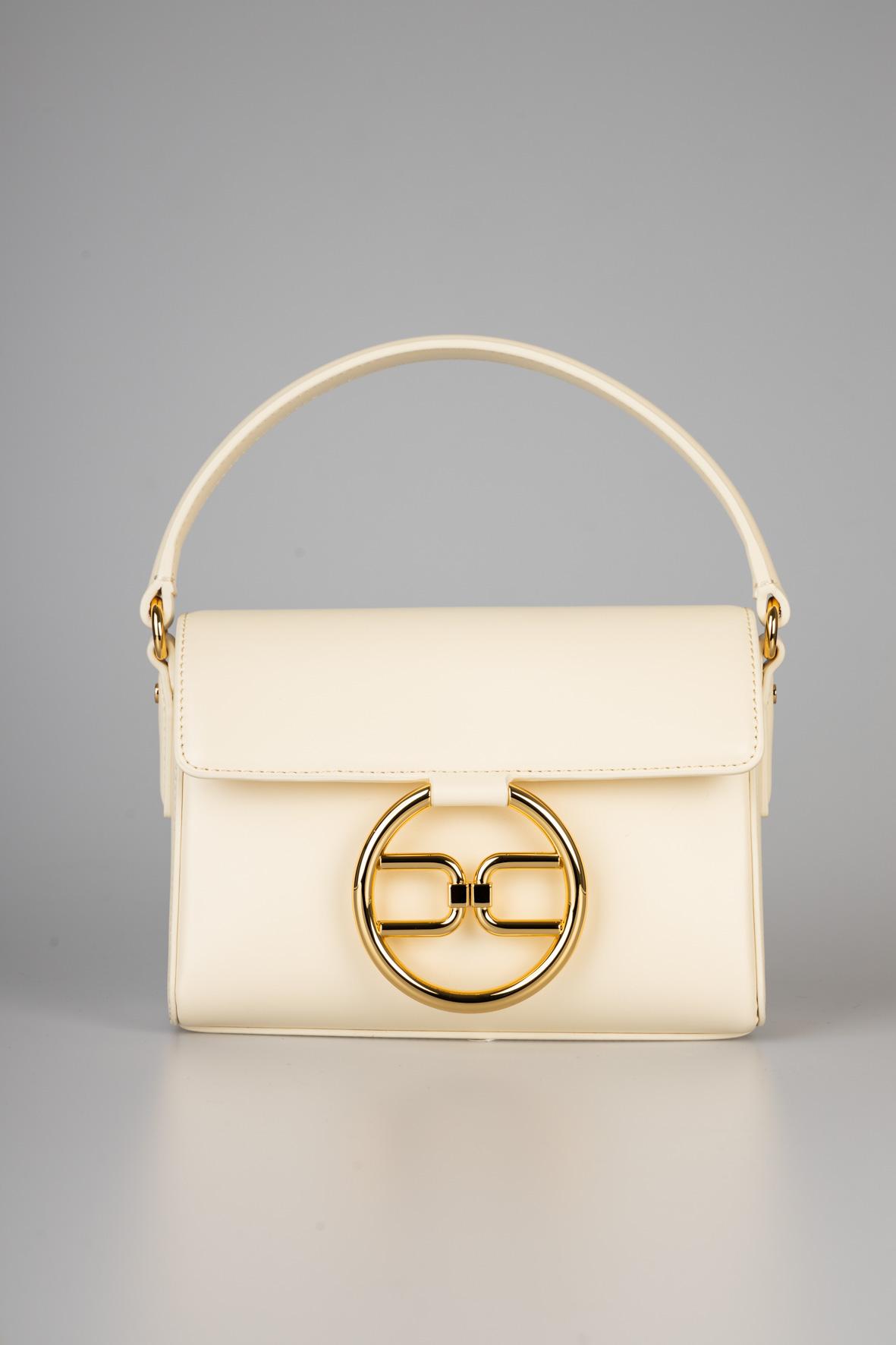 Micro bag con logo dorato ELISABETTA FRANCHI | Borsa | BS04A11E2193