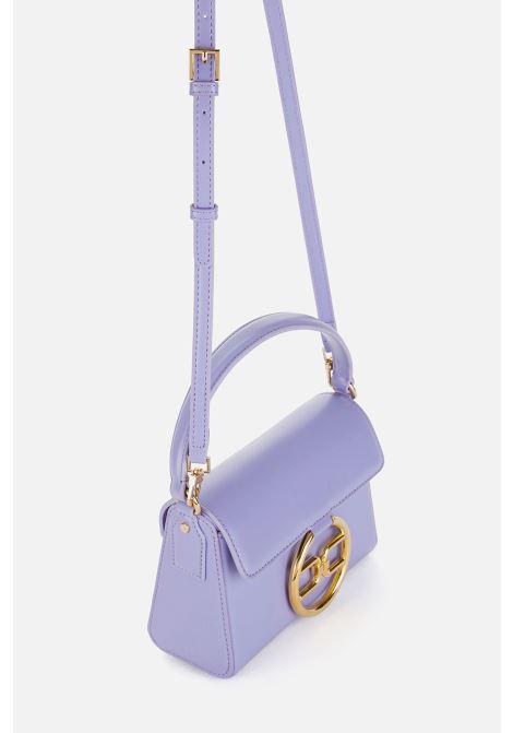 Micro bag con logo dorato ELISABETTA FRANCHI | Borsa | BS04A11E2Q38
