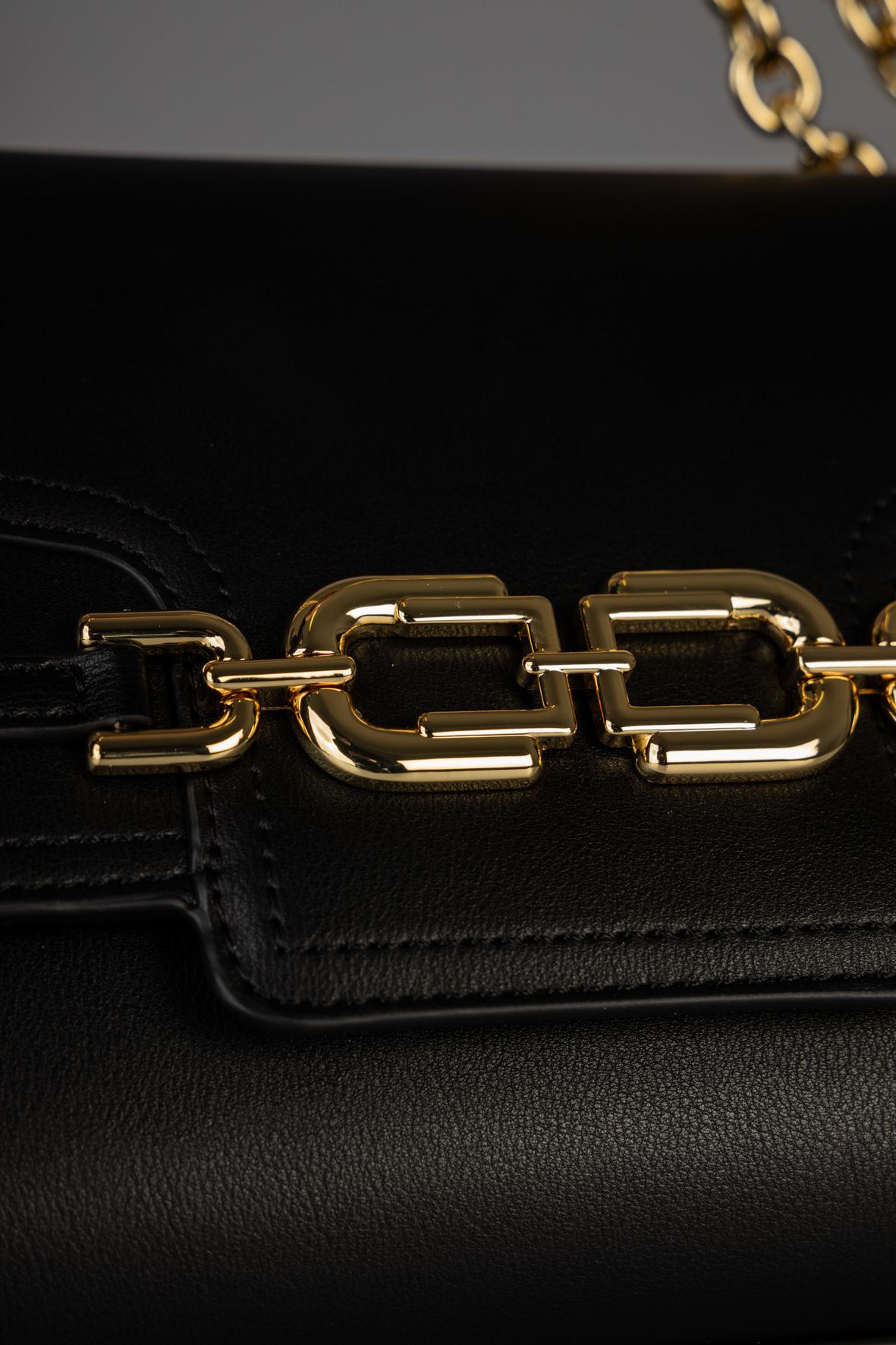 Borsa media con morsetto light gold ELISABETTA FRANCHI | Borsa | BS08A11E2110