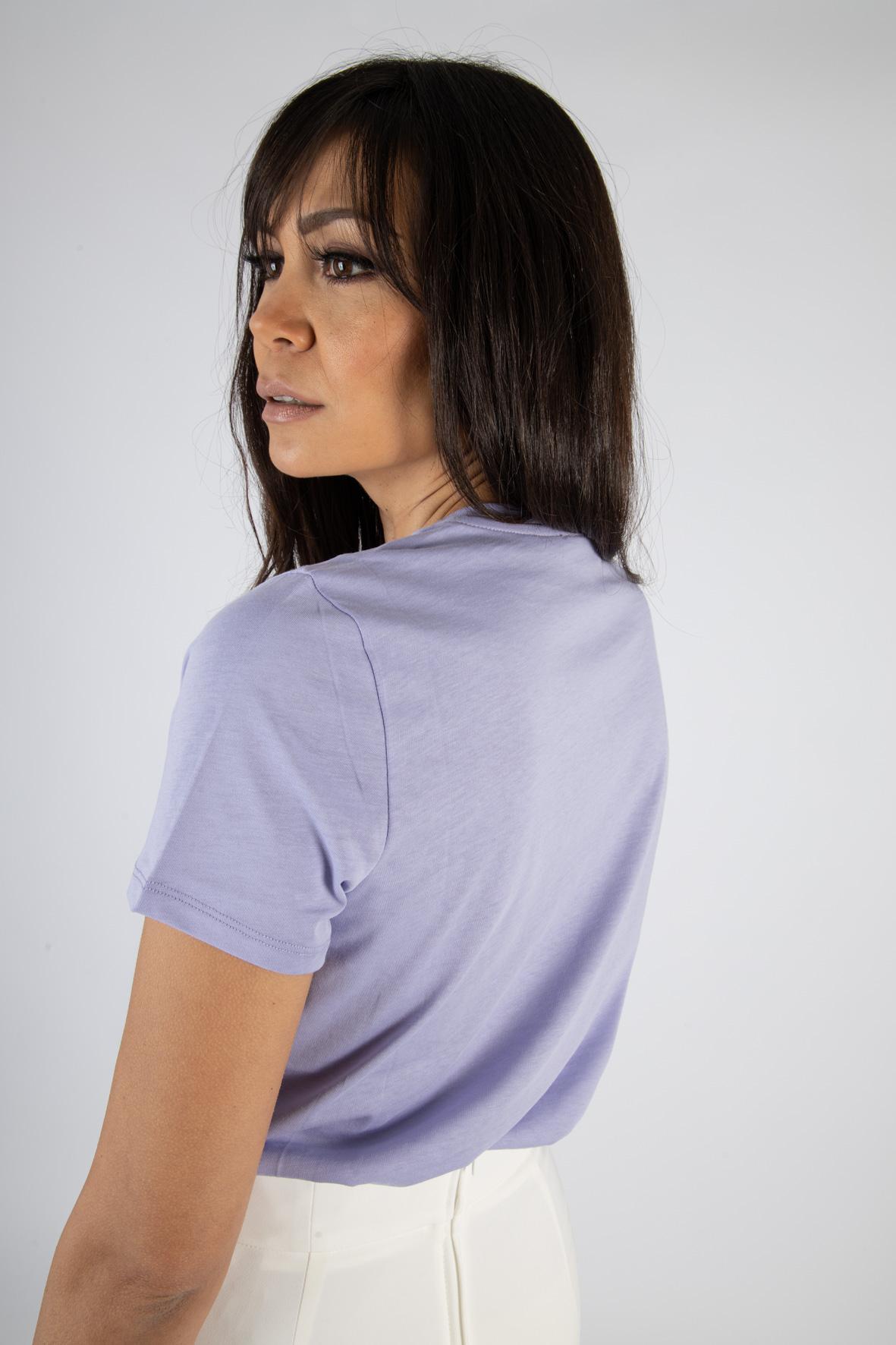 T-shirt Elisabetta Franchi con stampa ELISABETTA FRANCHI | T-shirt | MA18411E2Q38