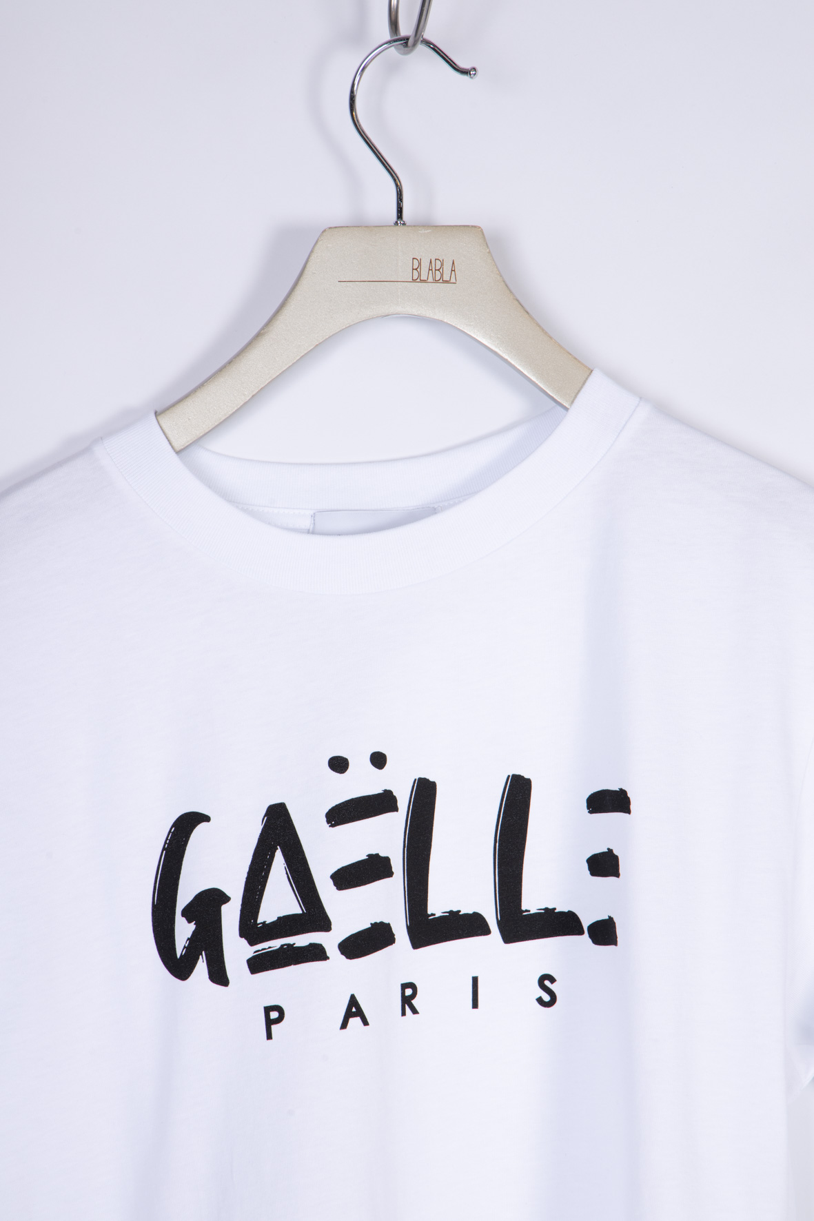 T-SHIRT IN JERSEY GAELLE | T-shirt | GBD8291BIANCO