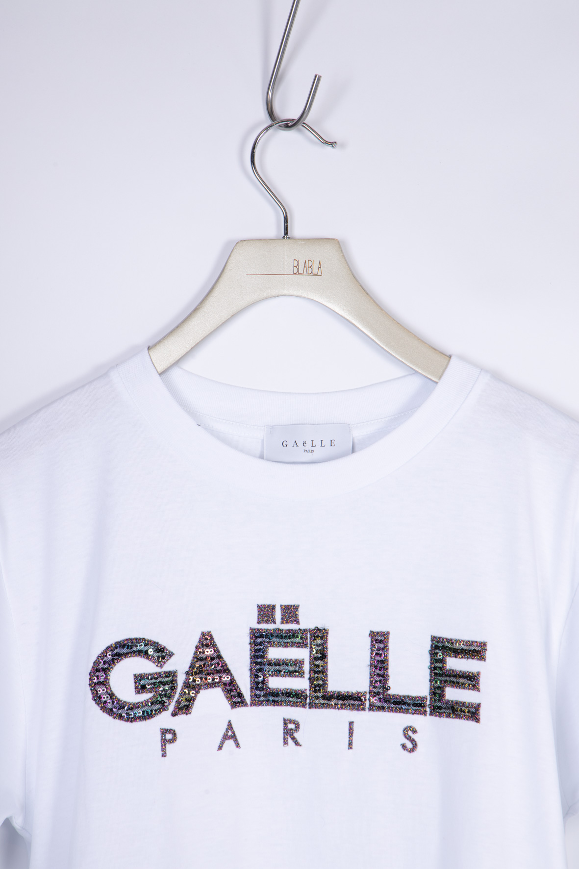 T-SHIRT IN JERSEY GAELLE | T-shirt | GBD8471BIANCO