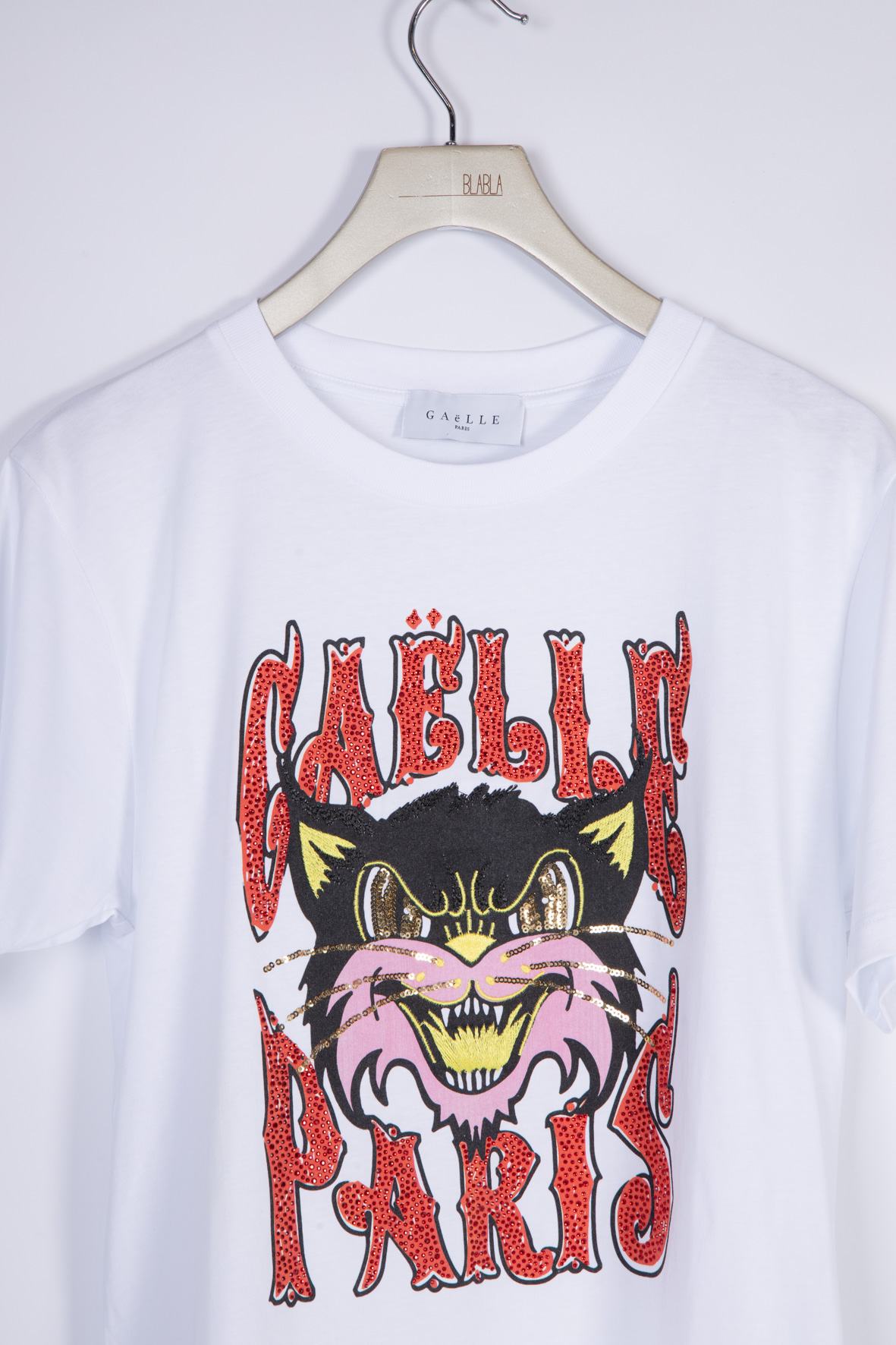 T-SHIRT IN JERSEY GAELLE | T-shirt | GBD8642BIANCO