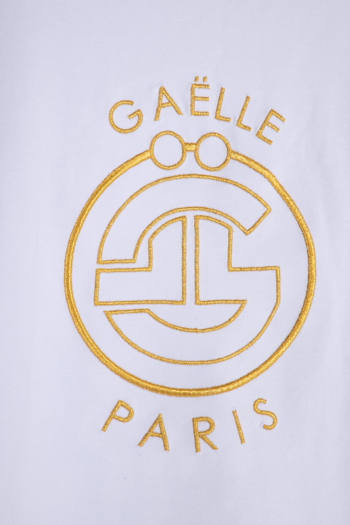 T-SHIRT IN BIELASTICO GAELLE | T-shirt | GBD8667BIANCO