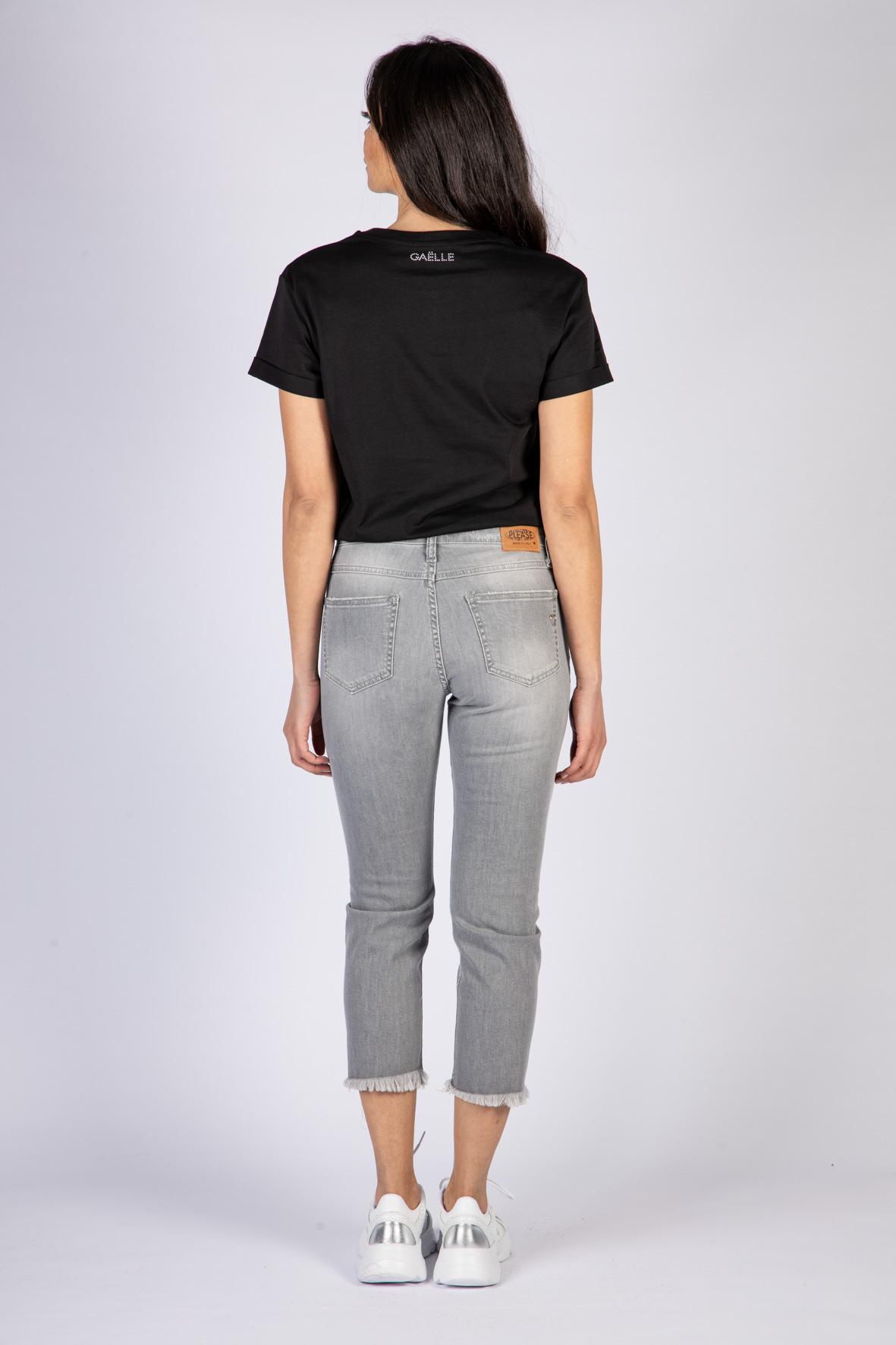 T-SHIRT IN JERSEY GAELLE | T-shirt | GBD8715NERO