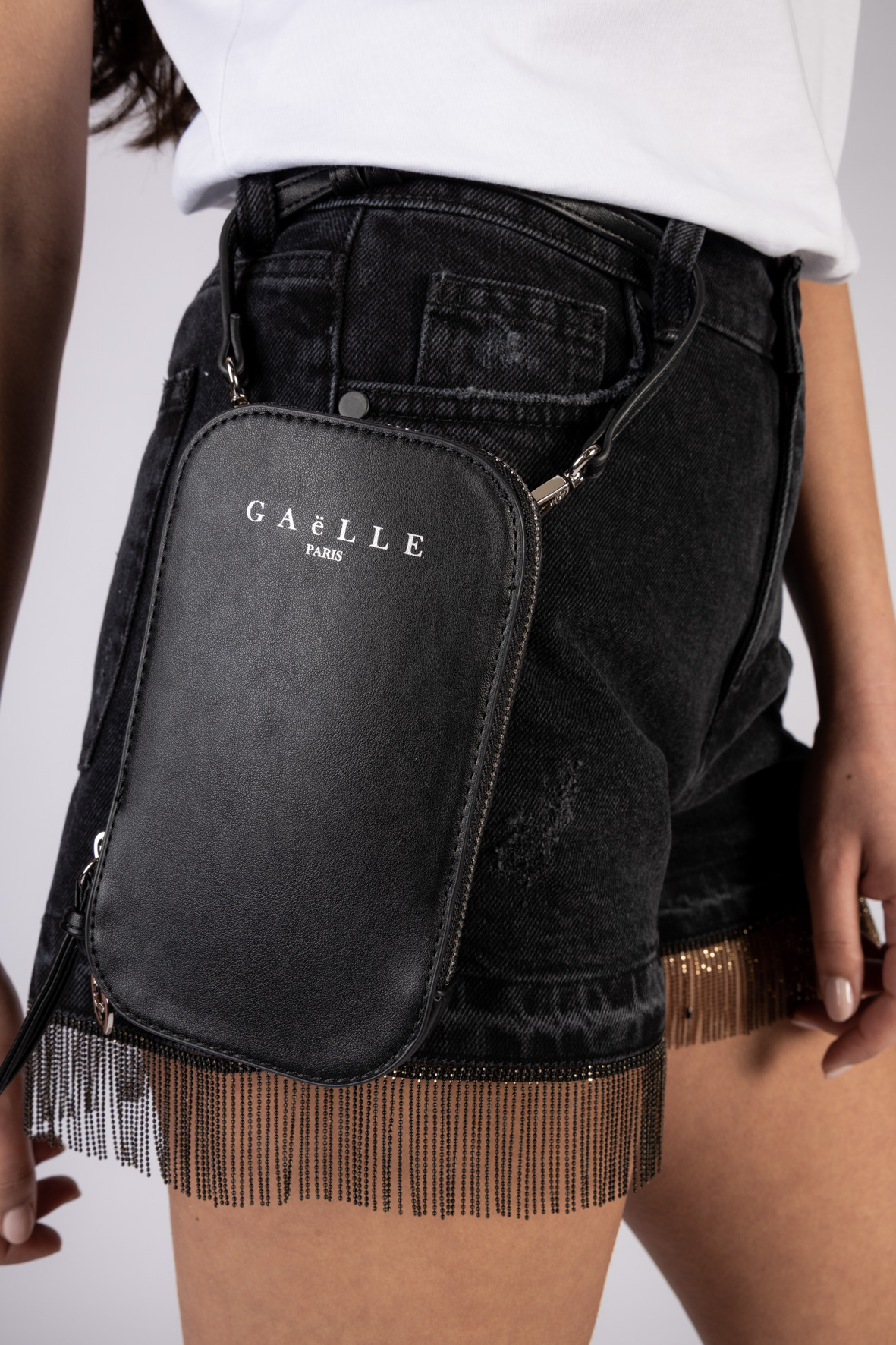MINI TRACOLLA GAELLE PARIS GAELLE | Tracolla | GBDA2150NERO