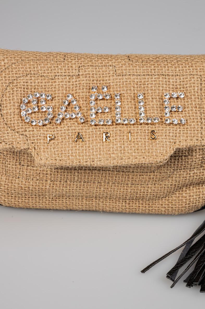 GAELLE | Shoulder bag  | GBDA2455NATURALE