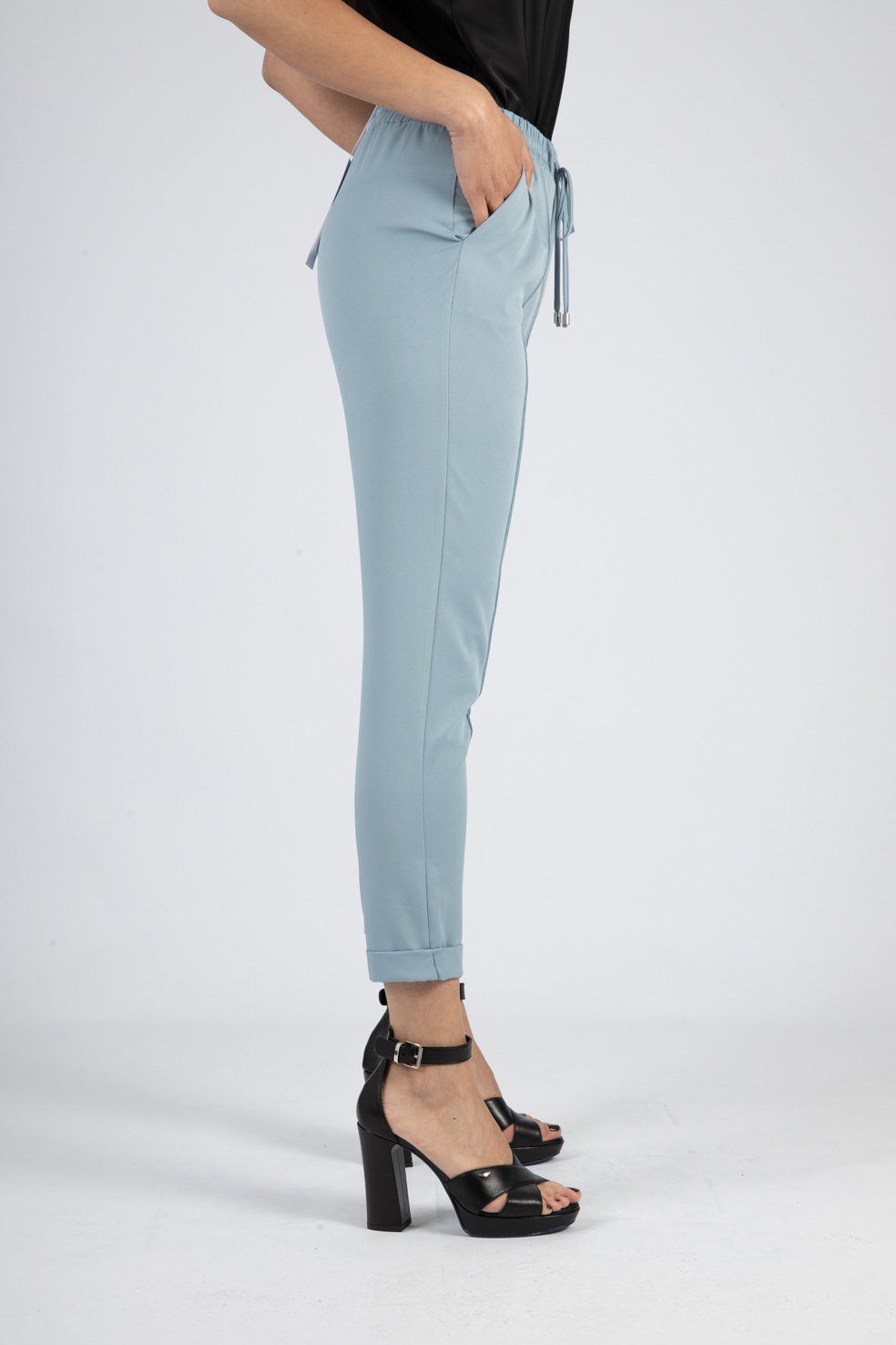 PANTALONI CASUAL CROPPED CON COULISSE IMPERIAL   Pantaloni   P1C0BHP1520