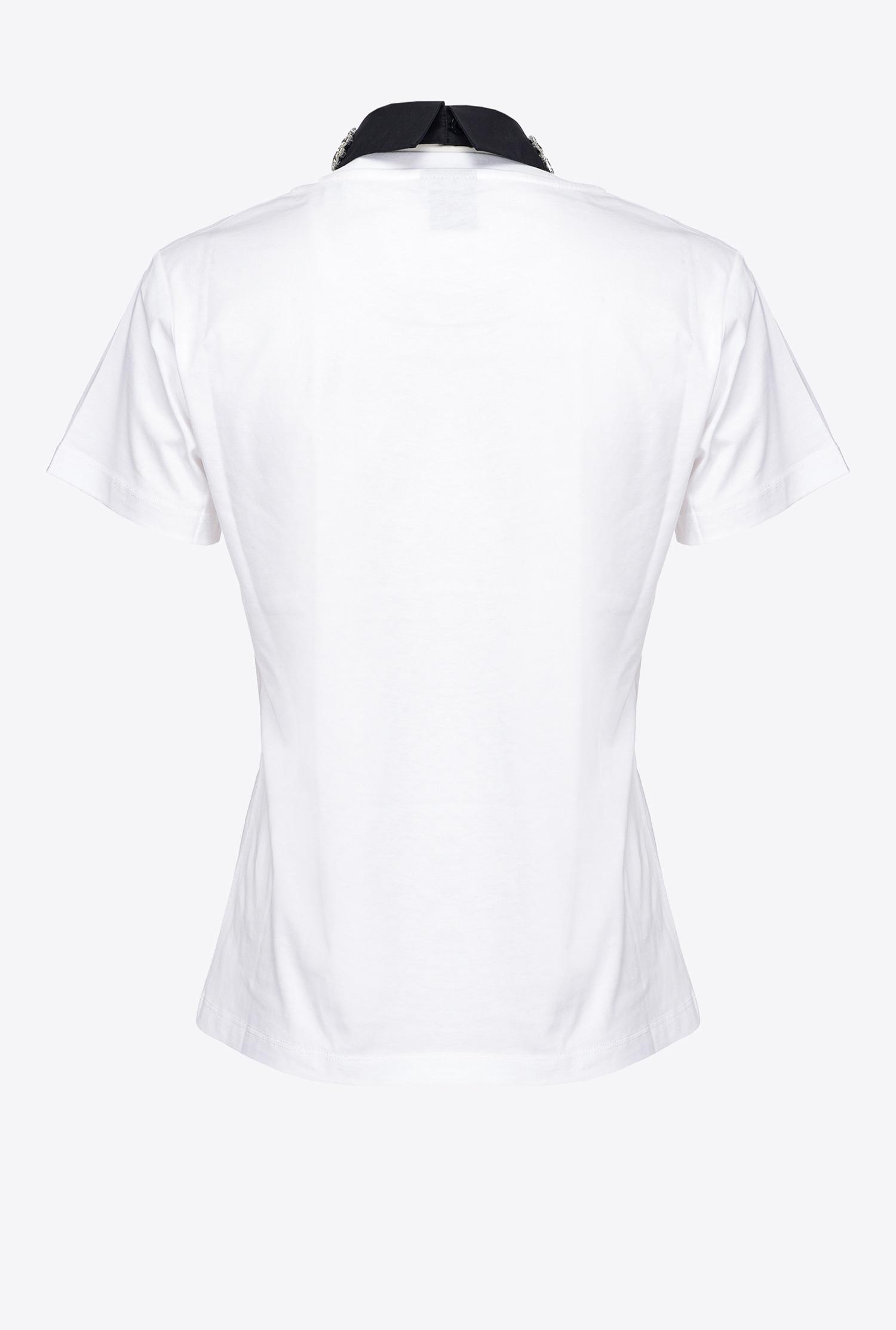 ALLEGATO T-SHIRT CON COLLETTO RIMOVIBILE Pinko | T-shirt | 1G164L-Y4LXZI4