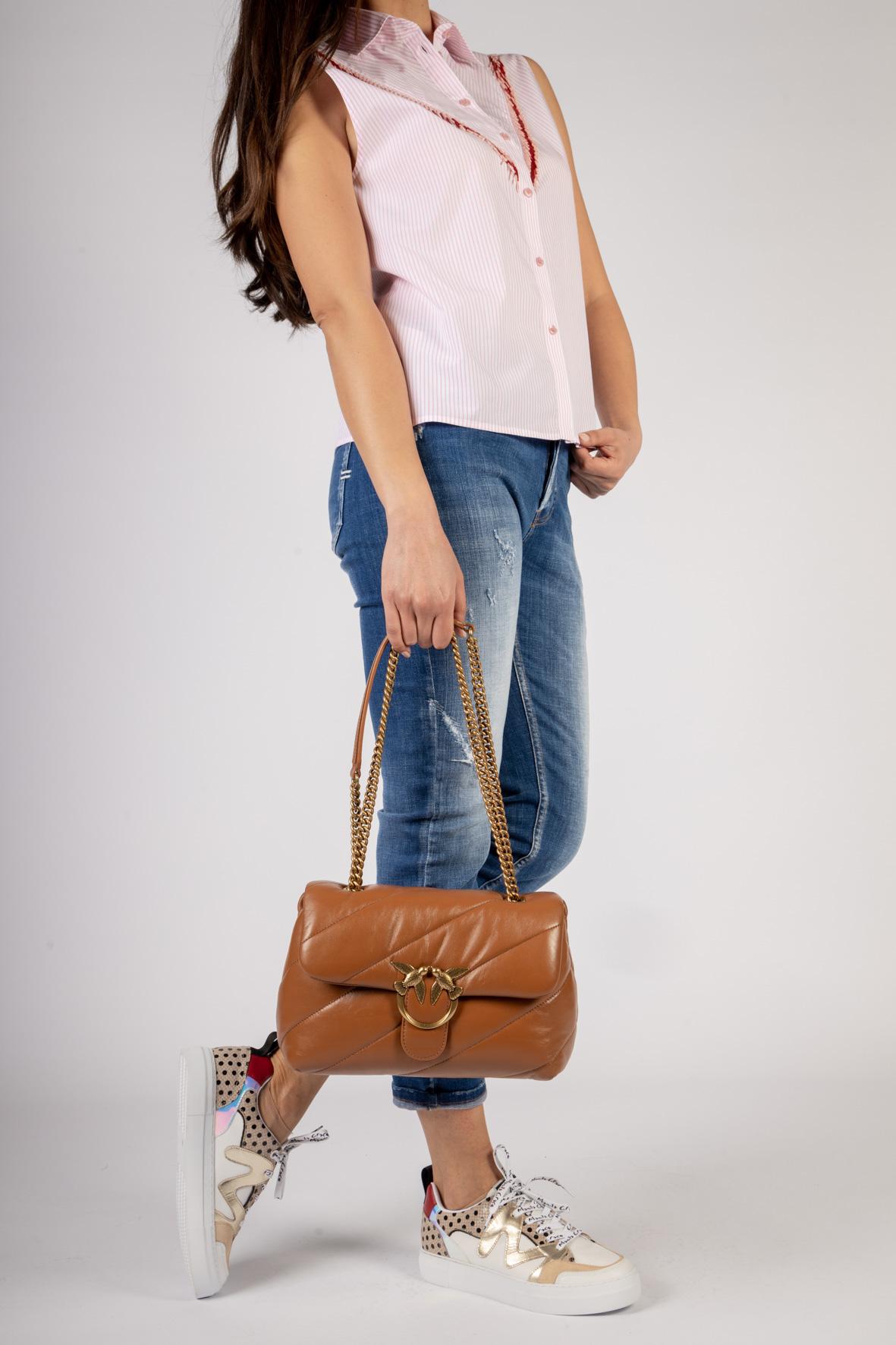 CLASSIC LOVE BAG PUFF MAXI QUILT Pinko | Borsa | 1P227J-Y6Y3L58