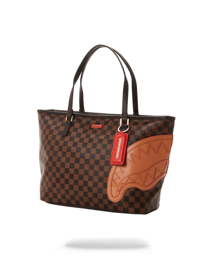 BROWN HENNY TOTE SPRAYGROUND | Shopper | 910T3571NSZMARRONE