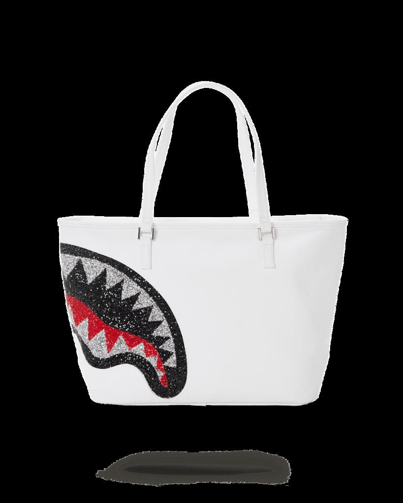 TRINITY 2.0 SHARK WHITE TOTE SPRAYGROUND   Shopper   910T3667NSZBIANCO