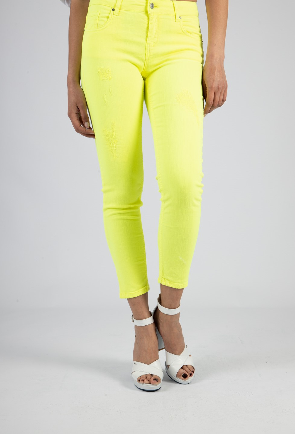Jeans Skinny VICOLO | Pantaloni | DH0137LIME