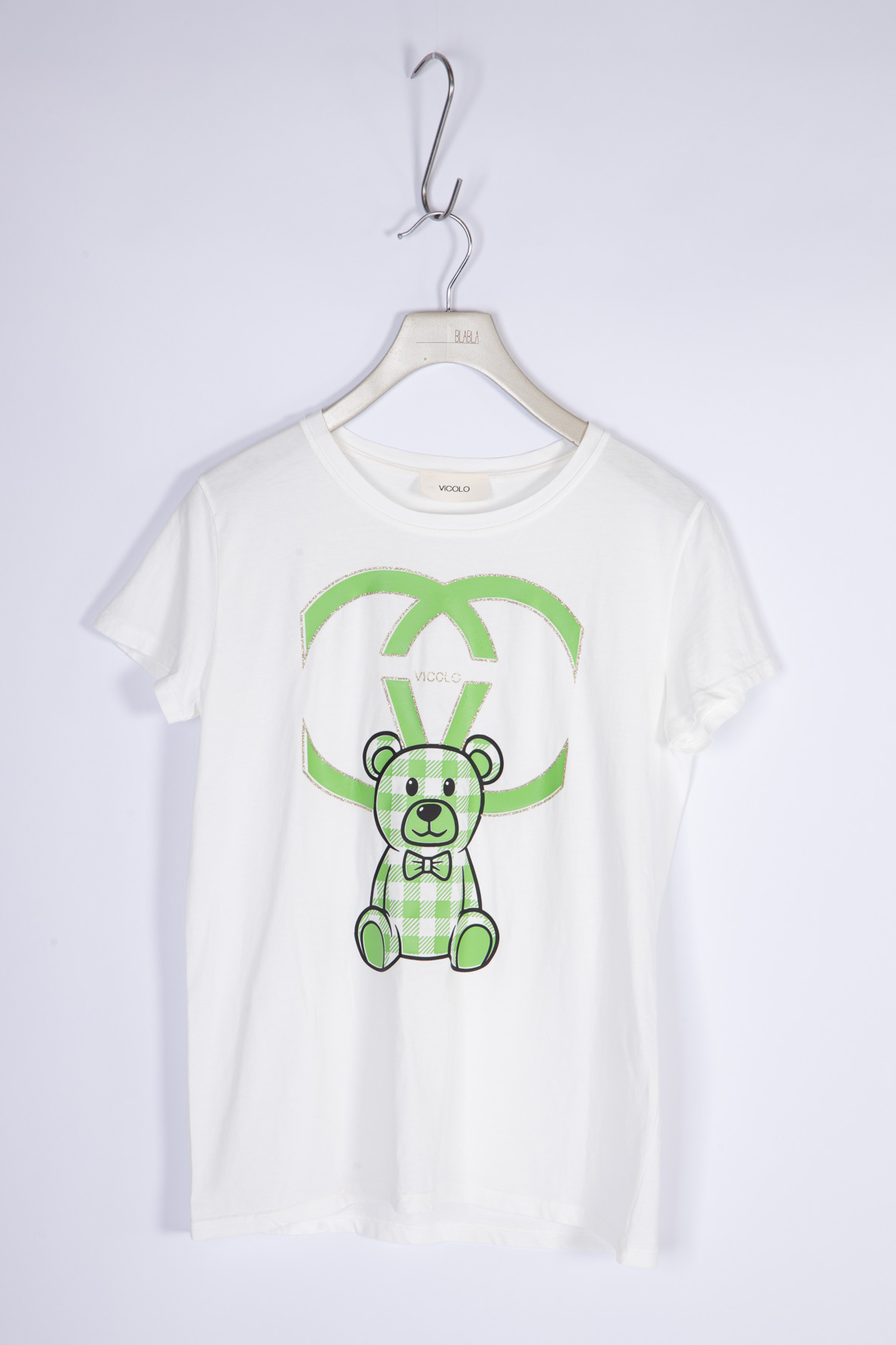 Vicolo T-Shirt Teddy VICOLO   T-shirt   RH0155VERDE