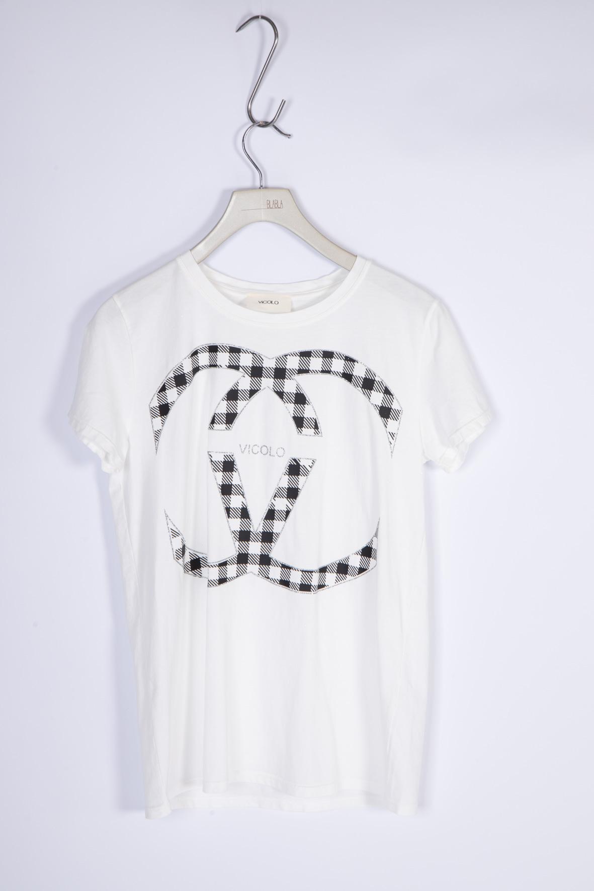 T-shirt Girocollo VICOLO | T-shirt | RH0156NERO