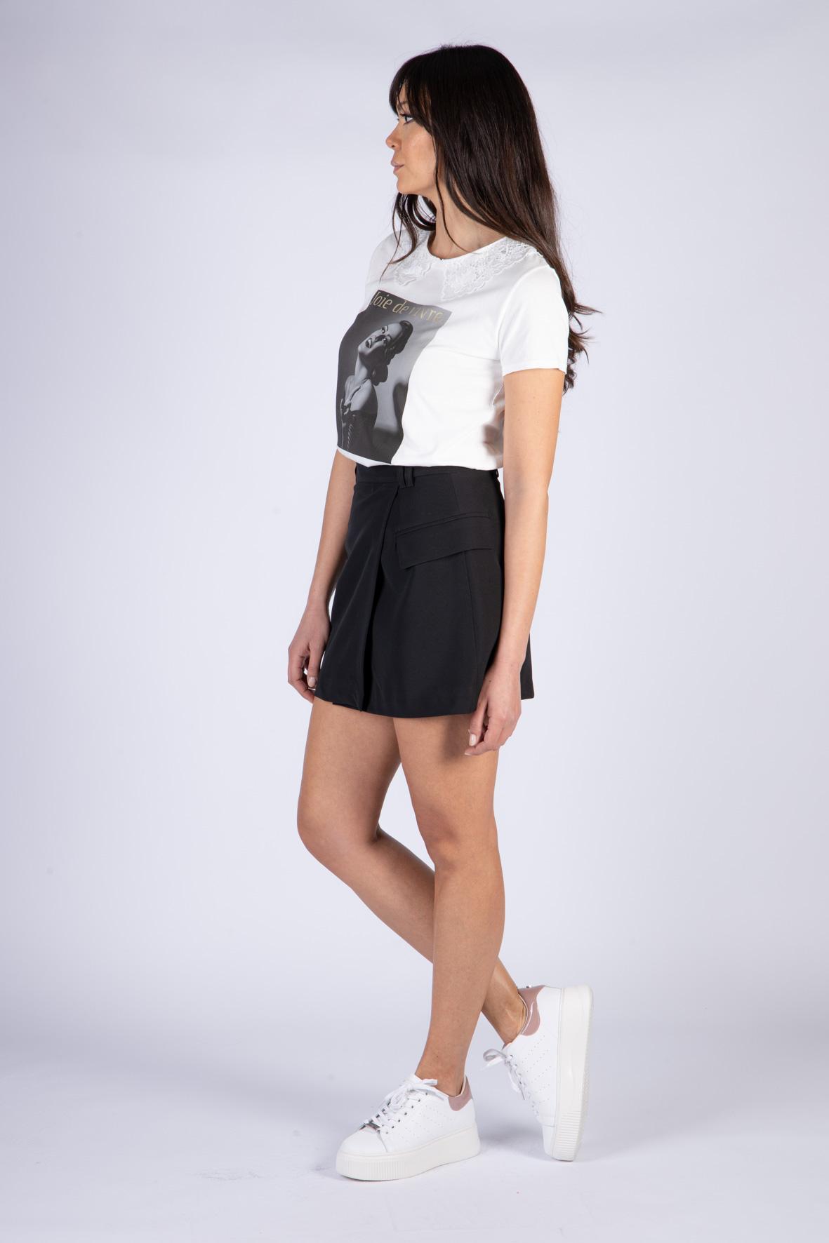 VICOLO | T-shirt  | RH0212BIANCO