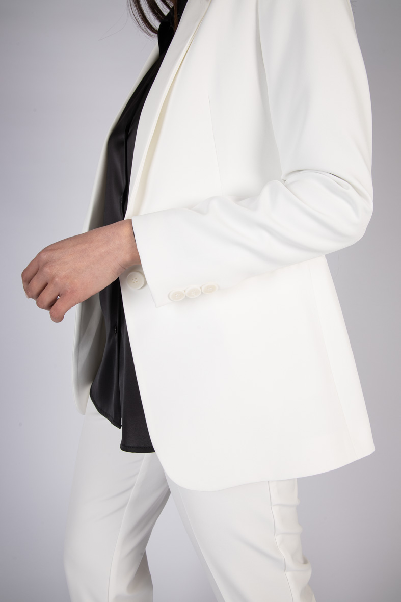 GIACCA BASIC MONOPETTO VICOLO | Giacca | TH0058BIANCO