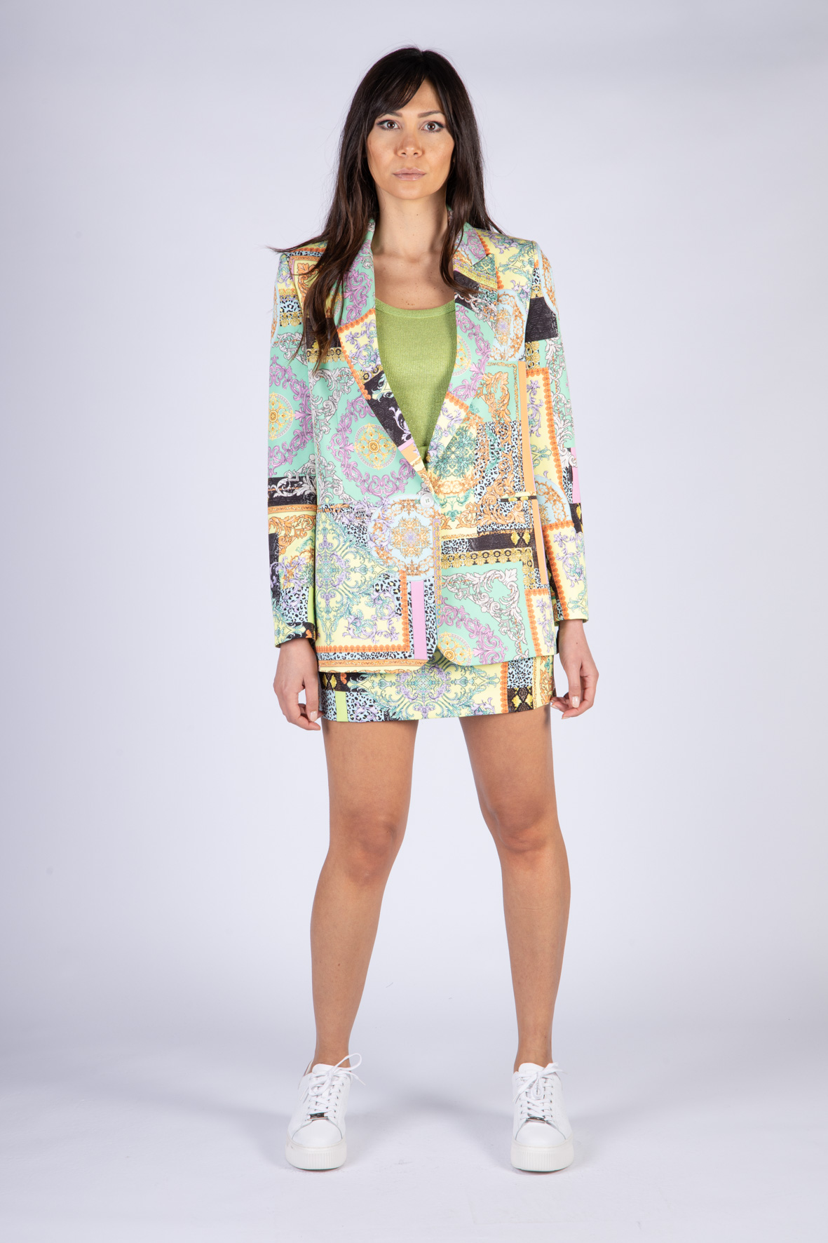 VICOLO | Jacket  | TH0563ACQUAMARINA