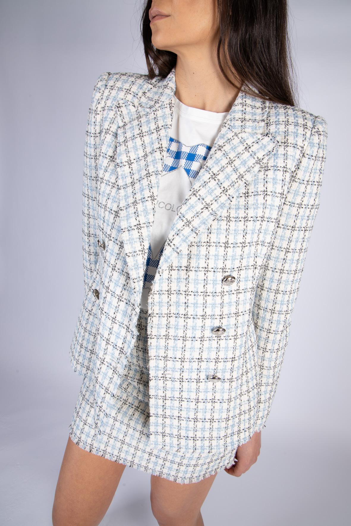VICOLO   Jacket    TH0914CELESTE