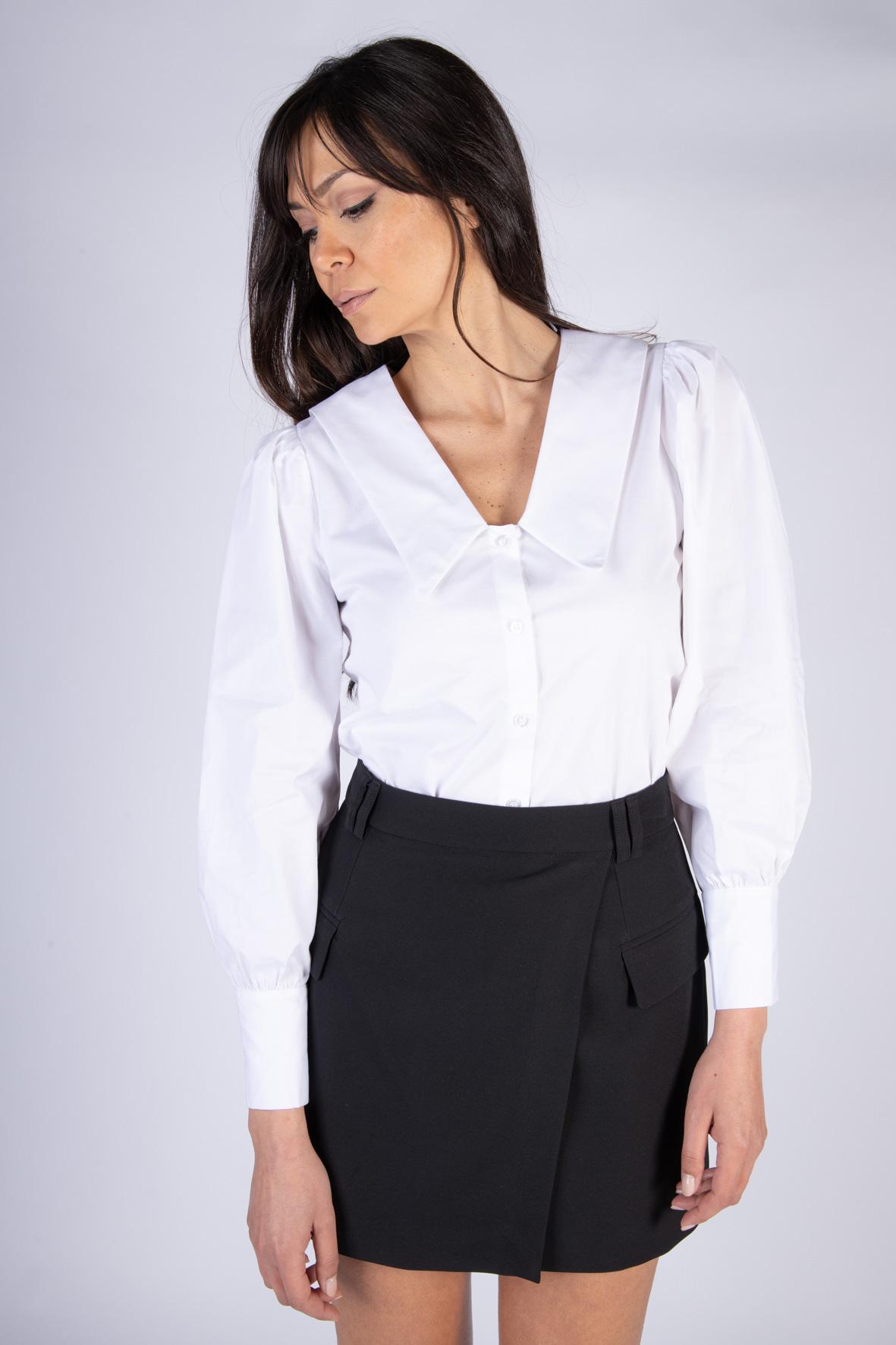 Camicia Scollo a V VICOLO | Camicia | TH0920BIANCO