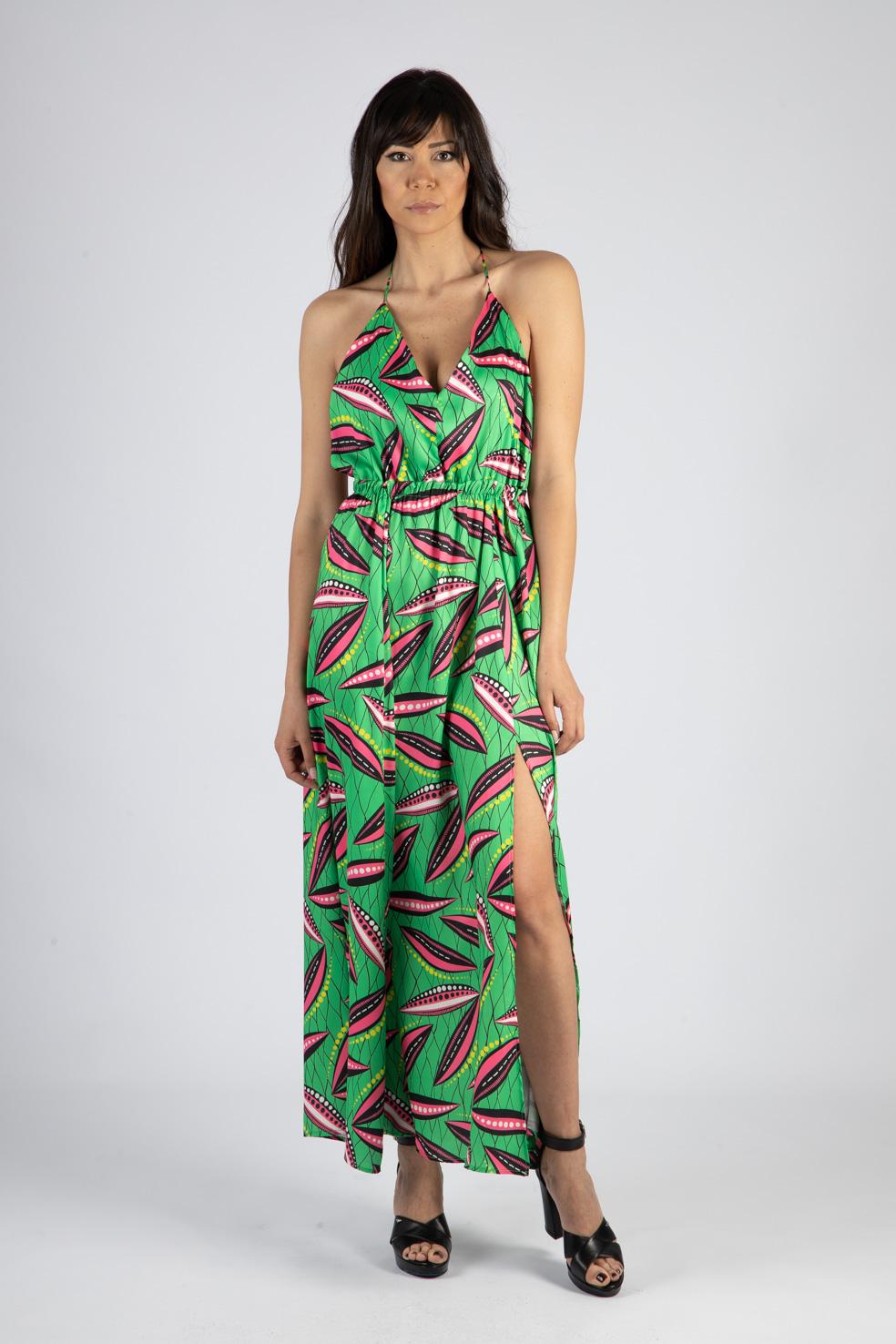 VICOLO   Dress    TH1948VERDE