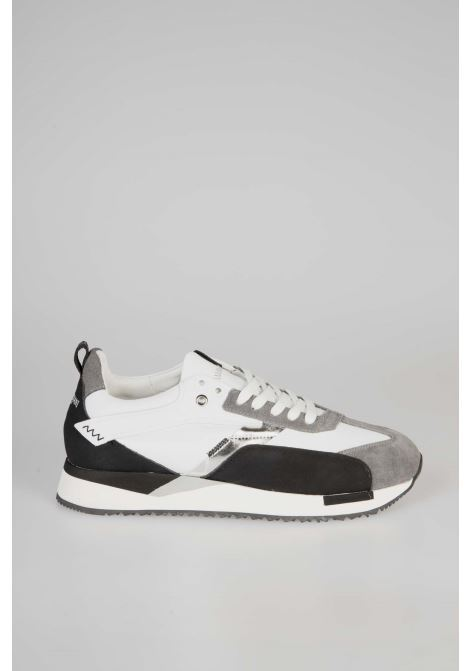 Sneakers Runner 015 ALBERTO GUARDIANI | Sneakers | AGU101056White/Black