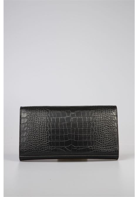 Borsa Clutch in Pelle Bla Bla 1977 | Borsa | 2793658BLACK
