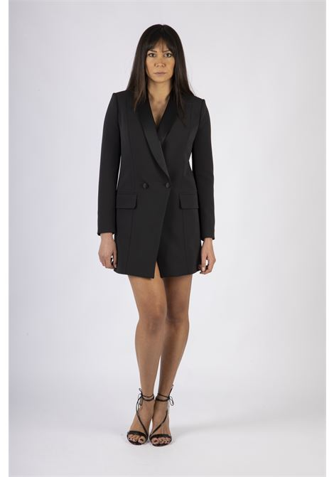 Robe manteau con revers ELISABETTA FRANCHI | Abito | AB06207E2110