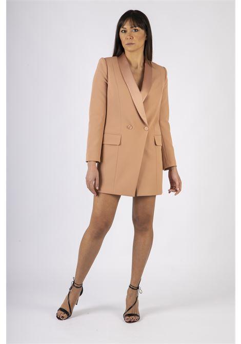 Robe manteau con revers ELISABETTA FRANCHI | Abito | AB06207E2W71