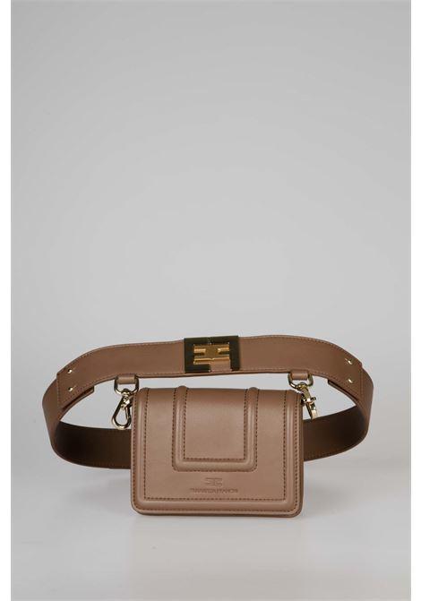 Belt bag con logo dorato EF ELISABETTA FRANCHI | Marsupio | BM10A06E2038