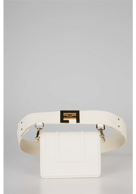 Belt bag con logo dorato EF ELISABETTA FRANCHI | Marsupio | BM10A06E2193