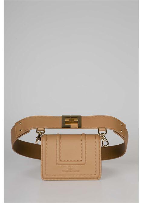 Belt bag con logo dorato ELISABETTA FRANCHI | Marsupio | BM10A06E2368